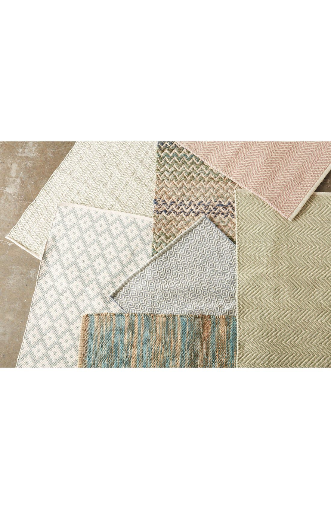 Ana Indoor/Outdoor Ticking Rug,                             Alternate thumbnail 2, color,