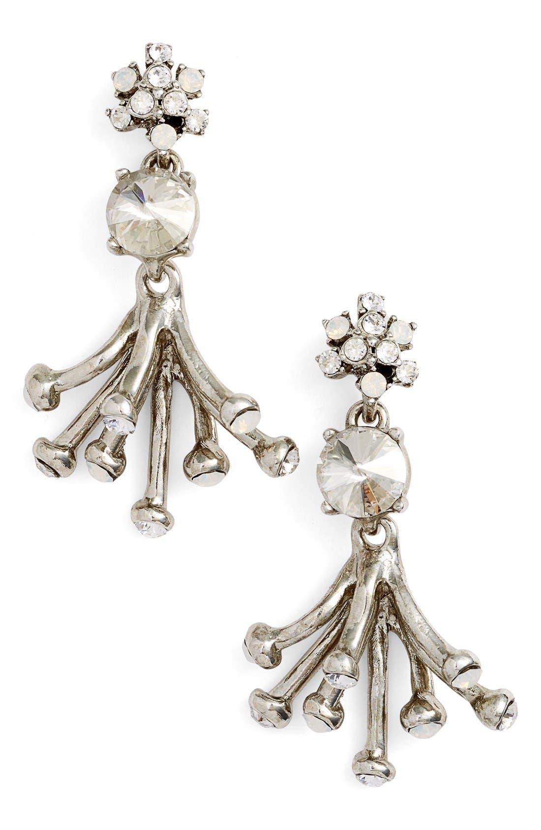 Main Image - Oscar de la Renta 'Galaxy Coral' Drop Earrings