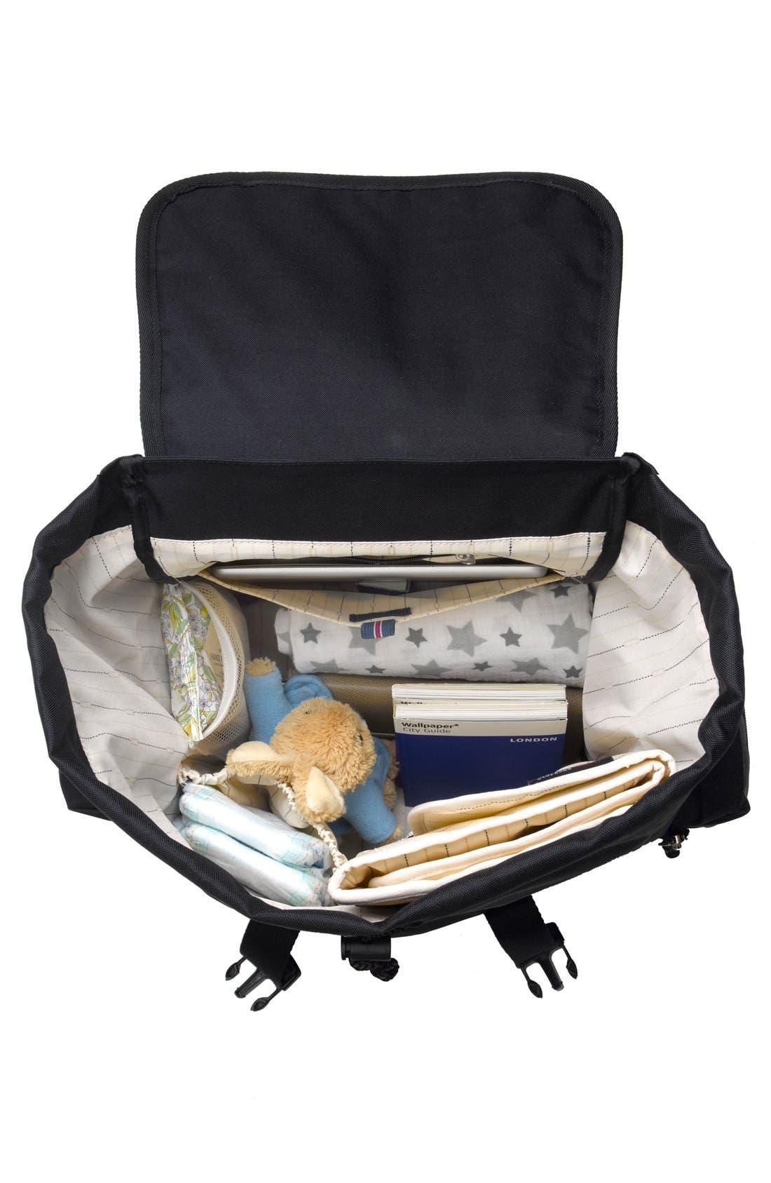 Alternate Image 5  - Storksak Travel Backpack Diaper Bag
