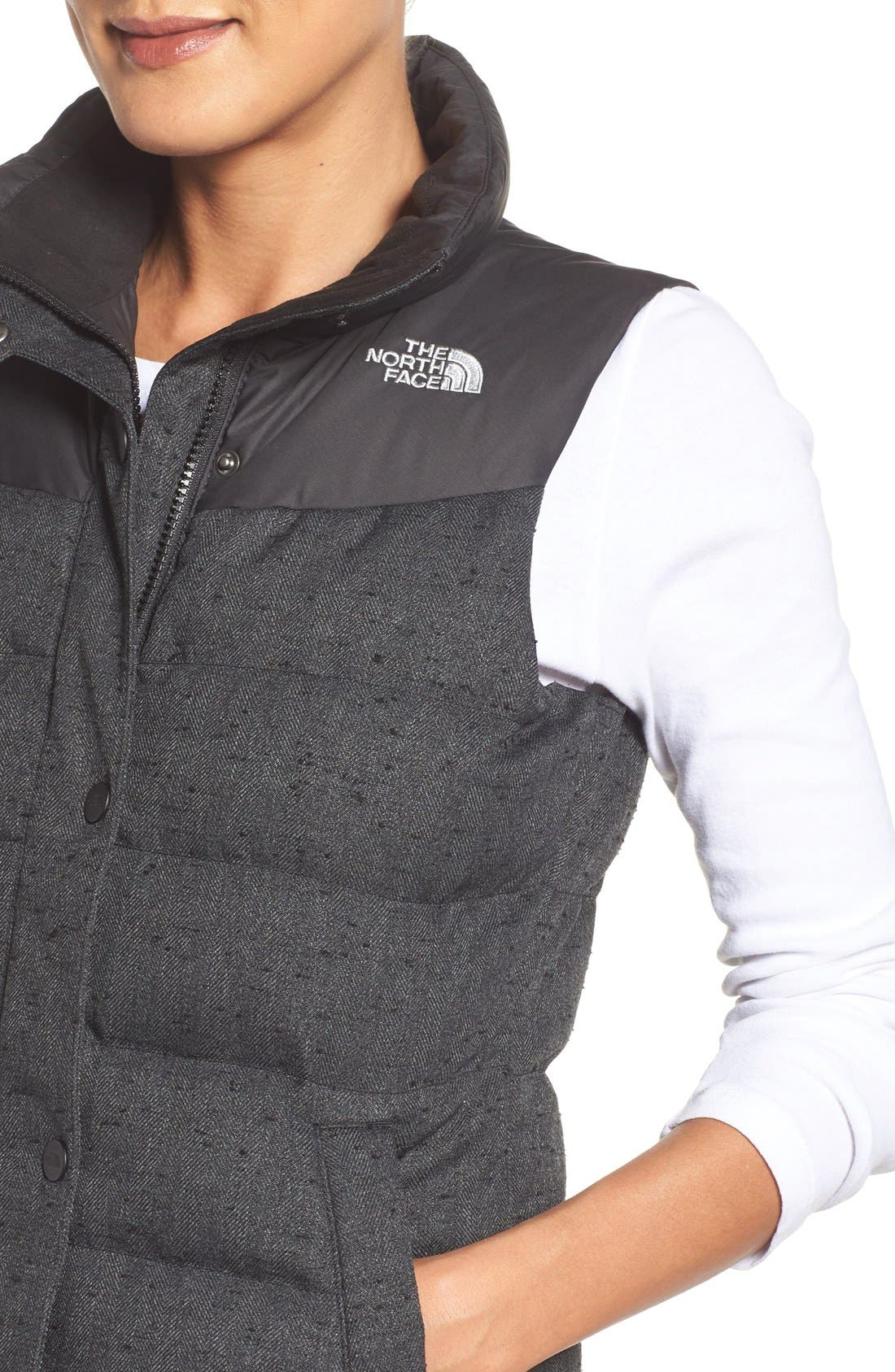 Alternate Image 4  - The North Face 'Nuptse Tweed' Water Resistant Down Vest (Nordstrom Exclusive)