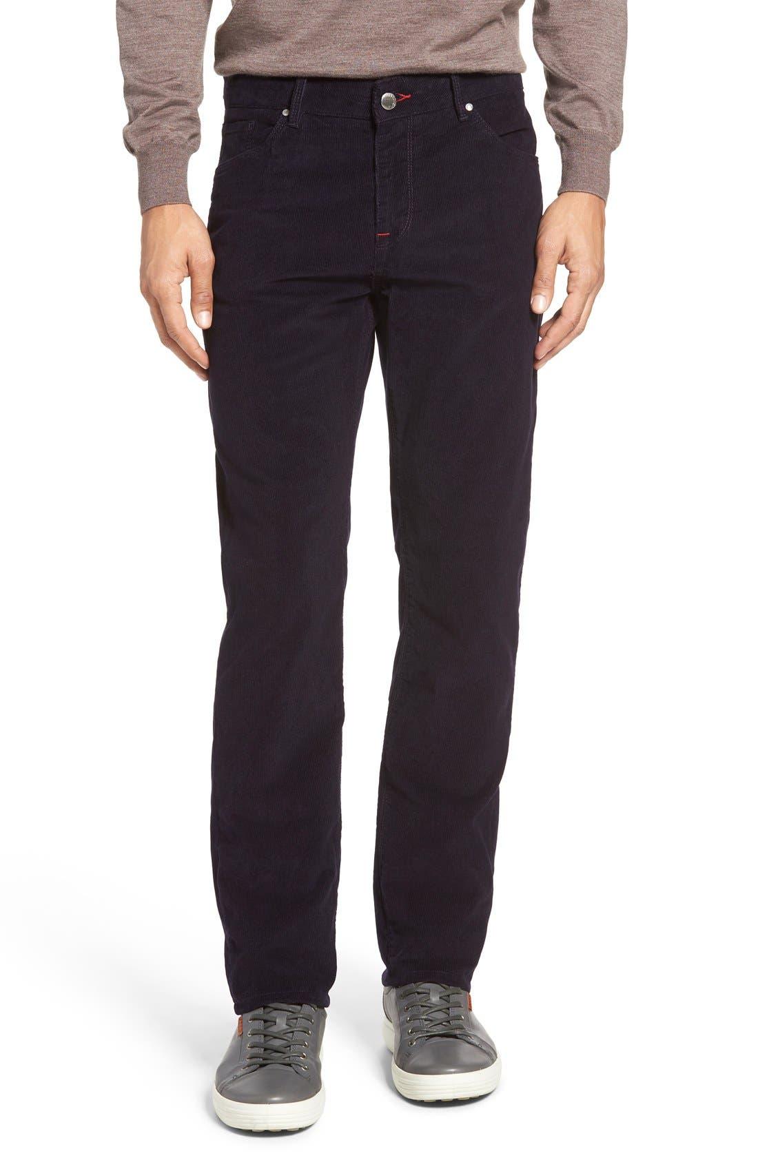 Main Image - Bugatchi Slim Fit Corduroy Pants