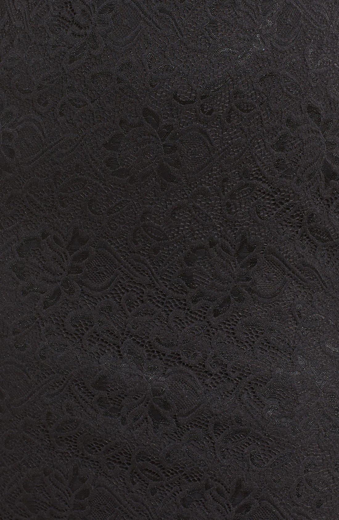 Alternate Image 5  - Fraiche by J Lace Midi Dress