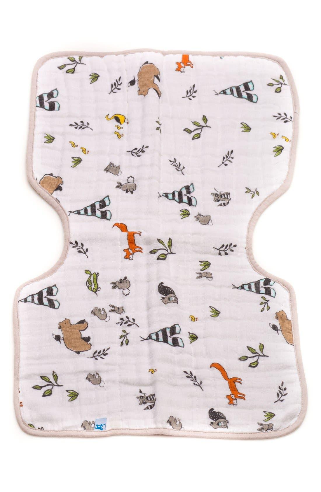 Alternate Image 1 Selected - little unicorn Cotton Muslin Burp Cloth