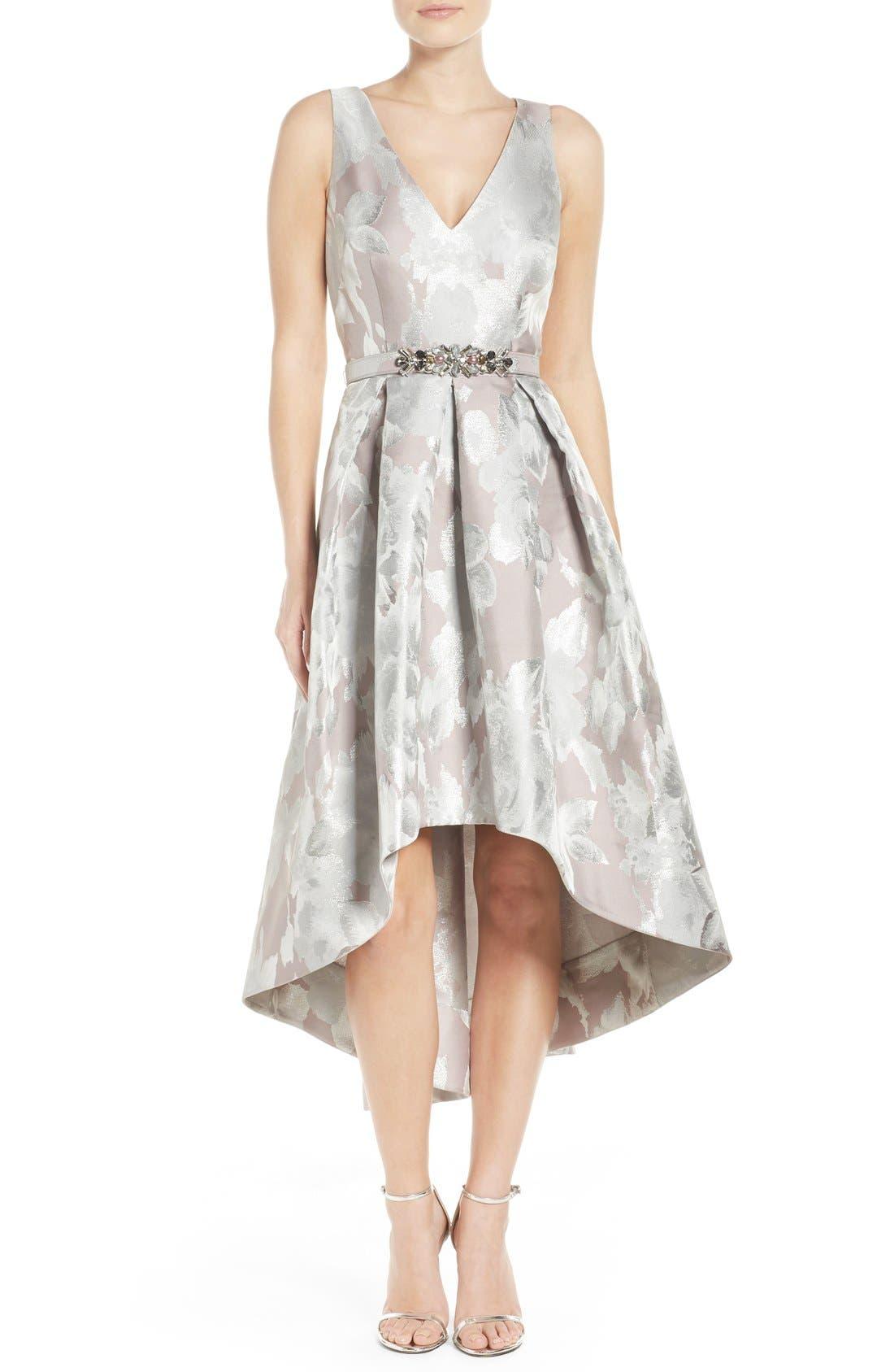 Alternate Image 1 Selected - Eliza J Sleeveless High/Low Dress
