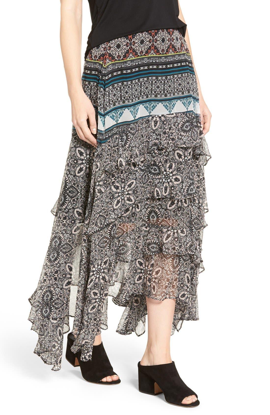 Alternate Image 4  - Ella Moss Jacinda Skirt