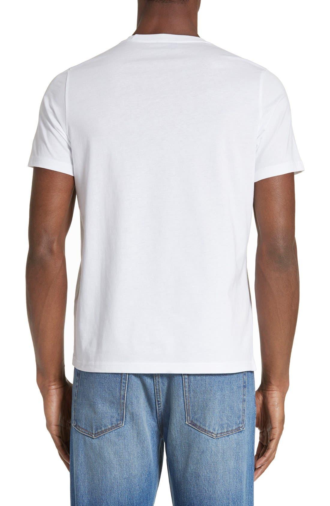 Palm Screen T-Shirt,                             Alternate thumbnail 2, color,                             White