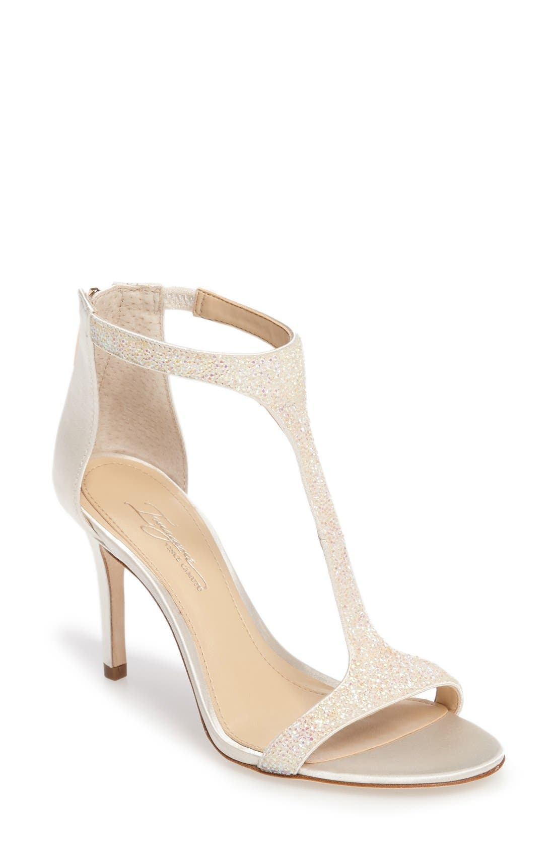 Alternate Image 1 Selected - Imagine by Vince Camuto 'Phoebe' Embellished T-Strap Sandal (Women)
