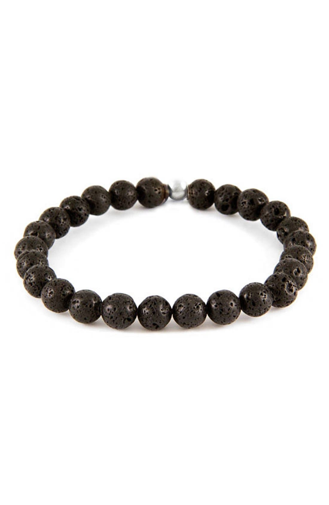 Alternate Image 1 Selected - Mr. Ettika Lava Stone Bead Bracelet