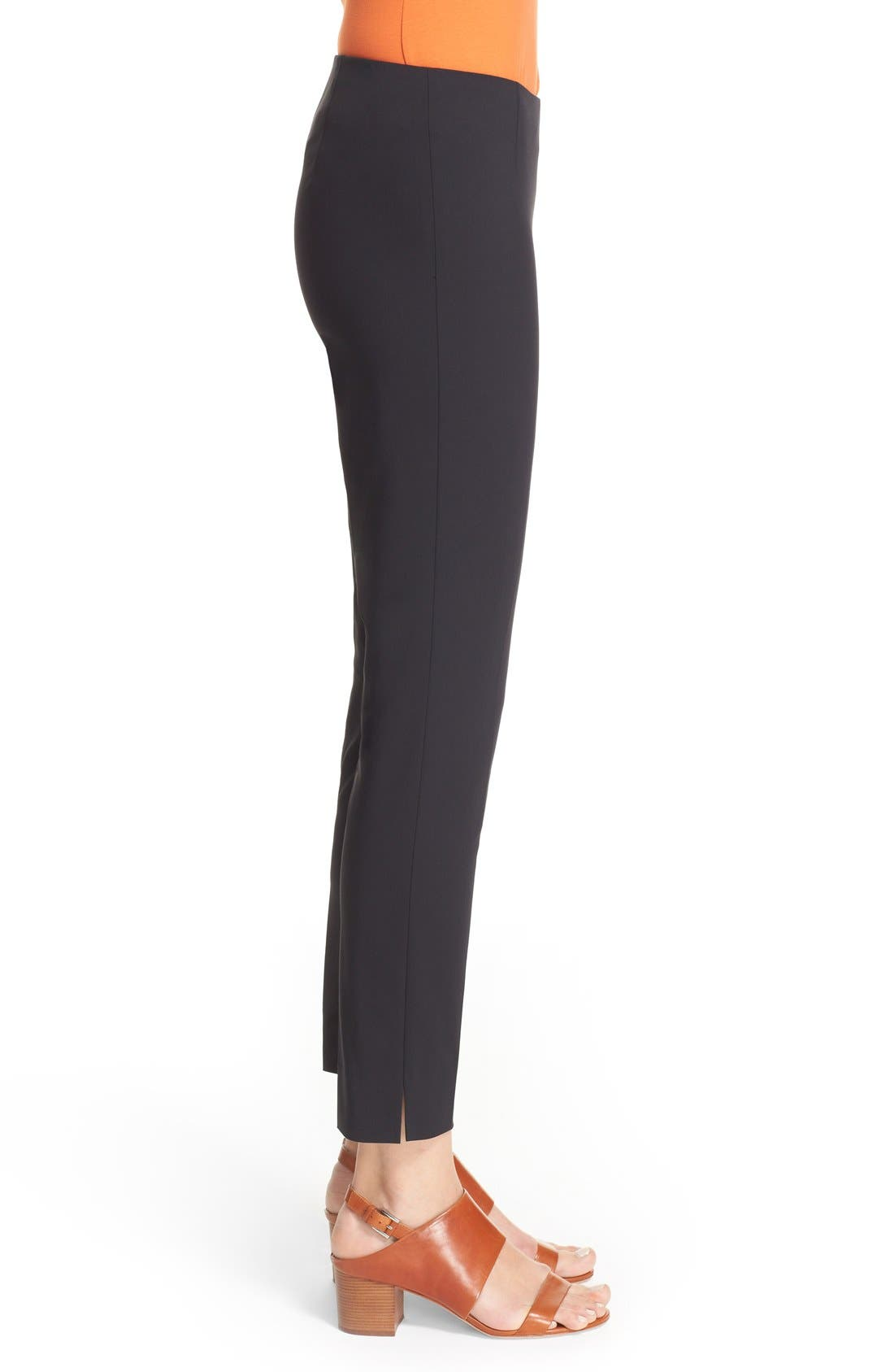 Alternate Image 5  - Lafayette 148 New York 'Stanton' Slim Leg Ankle Pants (Regular & Petite)