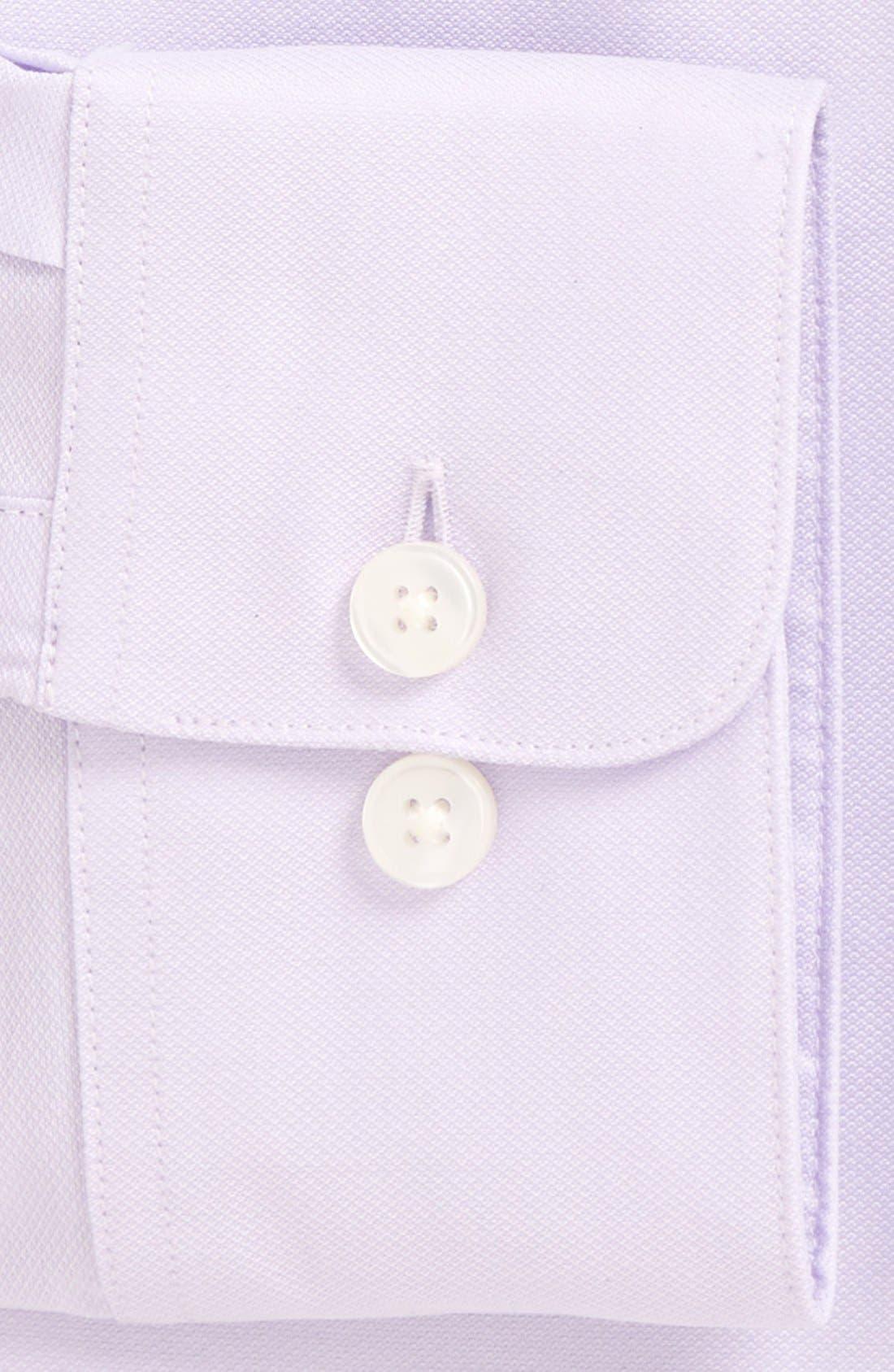 Soho Slim Fit Stretch Solid Dress Shirt,                             Alternate thumbnail 2, color,                             Lavender