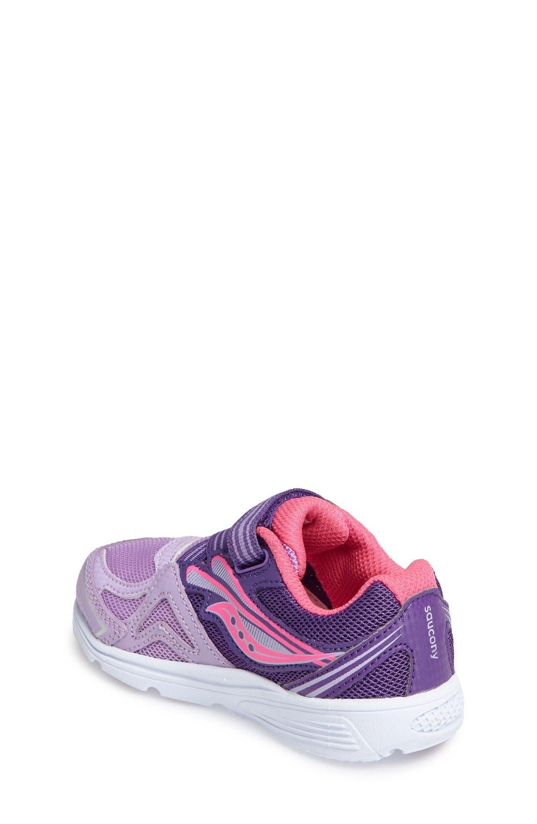 Baby Ride Sneaker,                             Alternate thumbnail 2, color,                             Purple