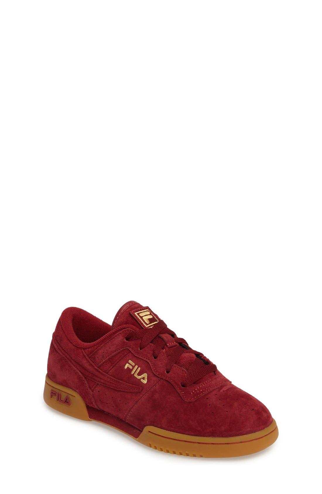 Heritage Sneaker,                         Main,                         color, Biking Red Suede