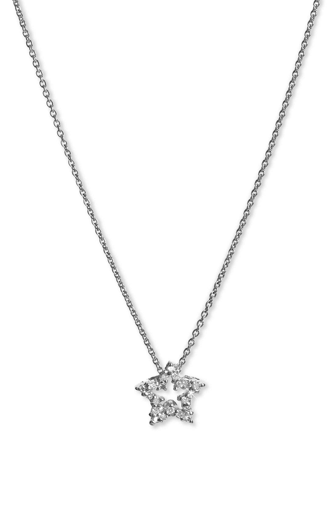 Main Image - Roberto Coin Tiny Treasures Star Pendant Necklace
