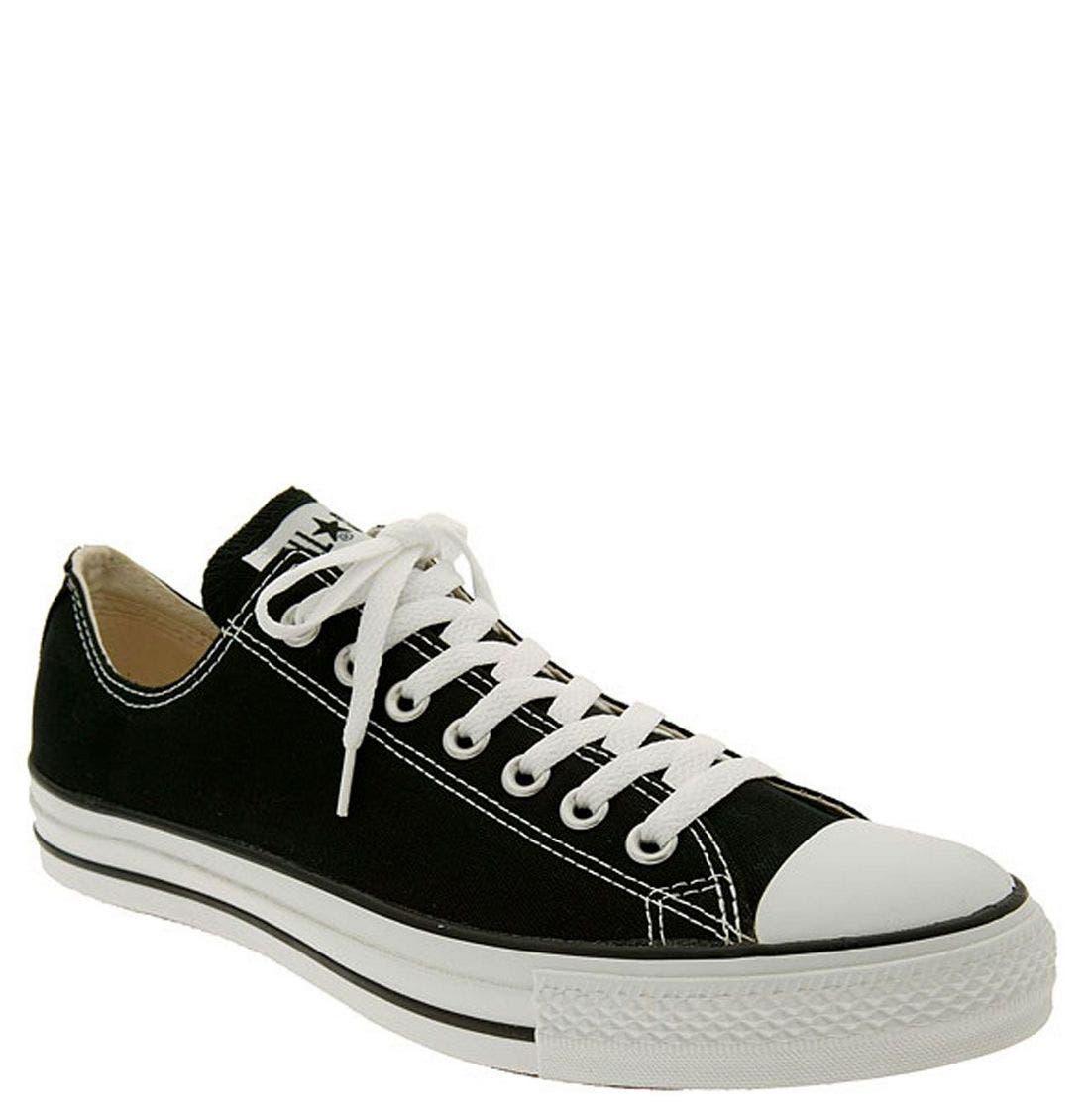 black converse for men