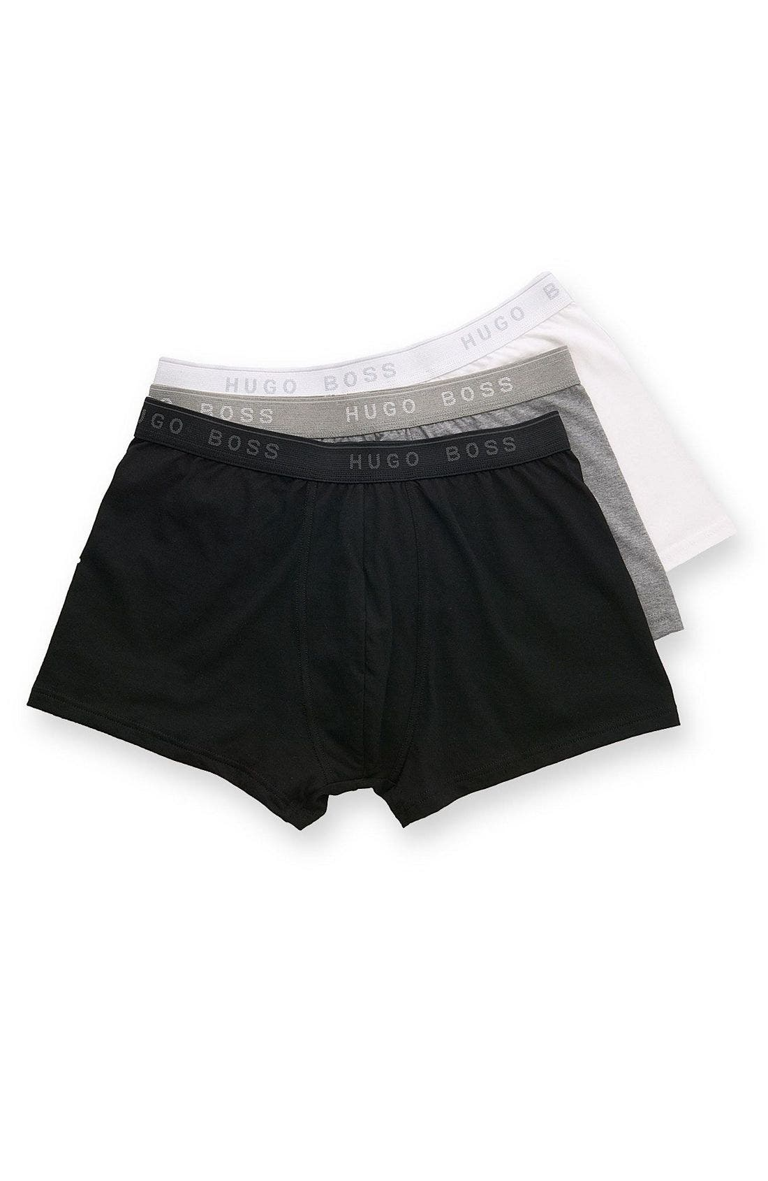 Alternate Image 3  - BOSS Black Boxer Briefs (Assorted 3-Pack)