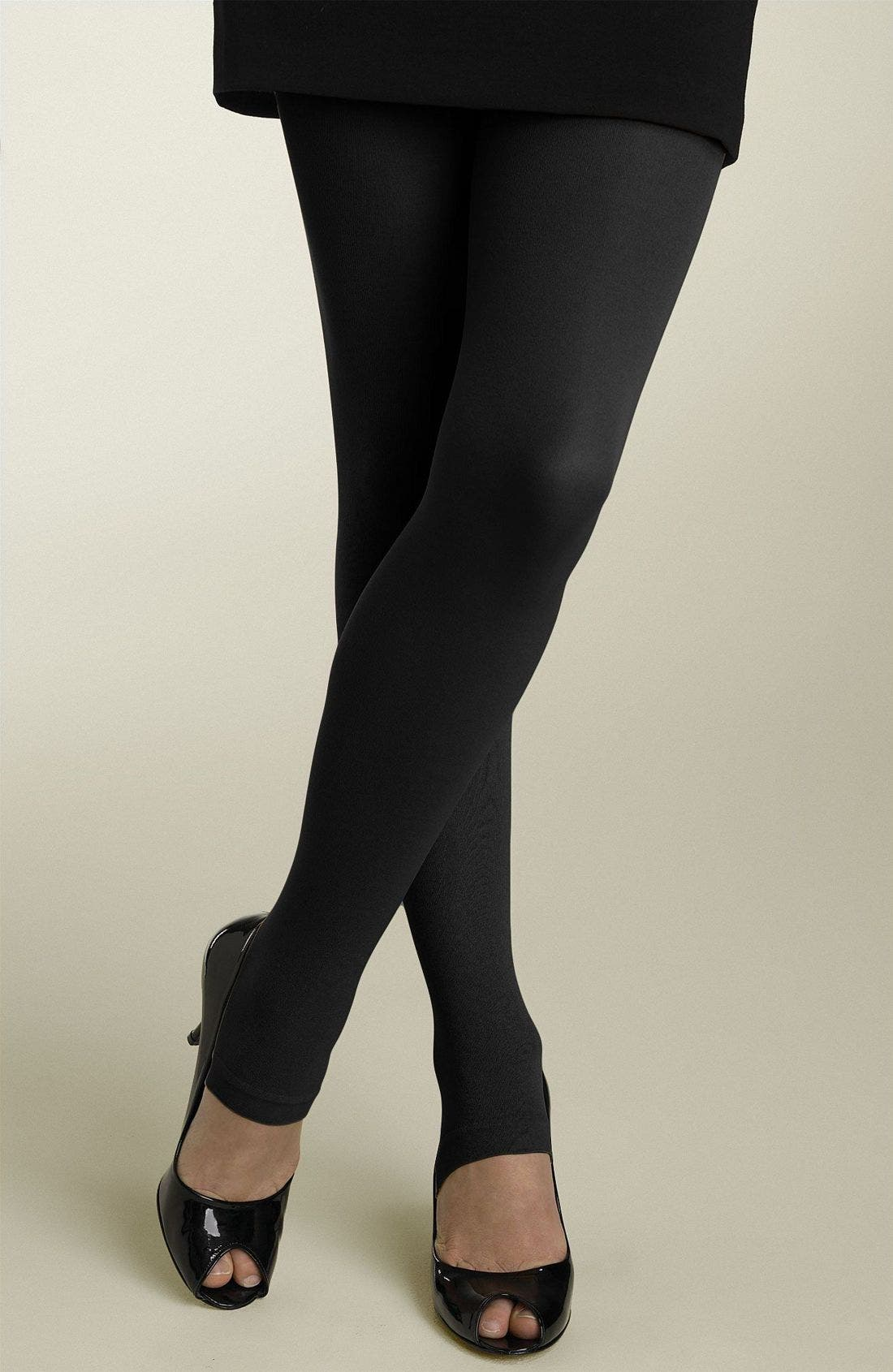 Alternate Image 1 Selected - Nordstrom Footless Tights