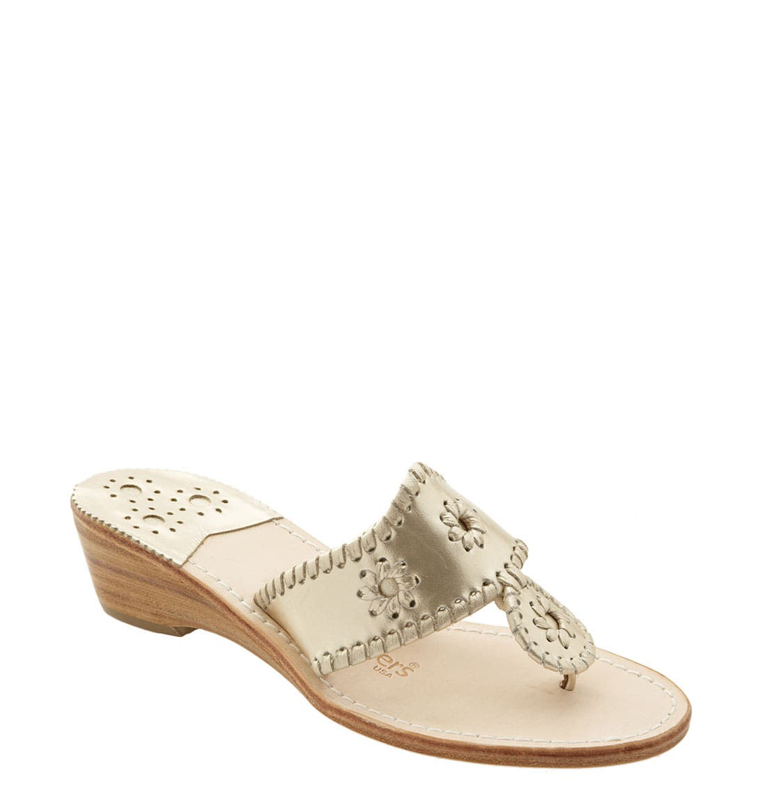 Alternate Image 1 Selected - Jack Rogers Wedge Sandal (Women)