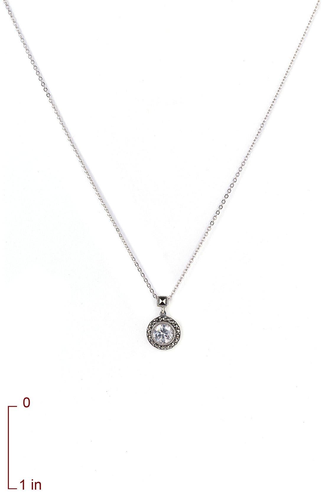 Alternate Image 3  - Judith Jack 'Small Moonshadow' Necklace