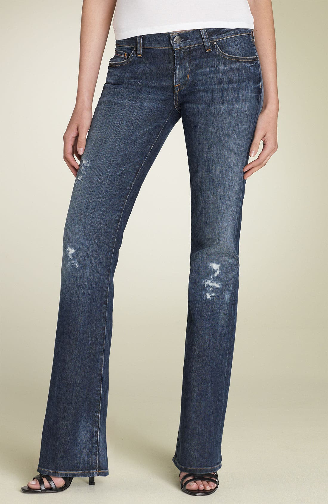Alternate Image 1 Selected - Citizens of Humanity 'Kelly' Bootcut Stretch Jeans (Preferred Wash)