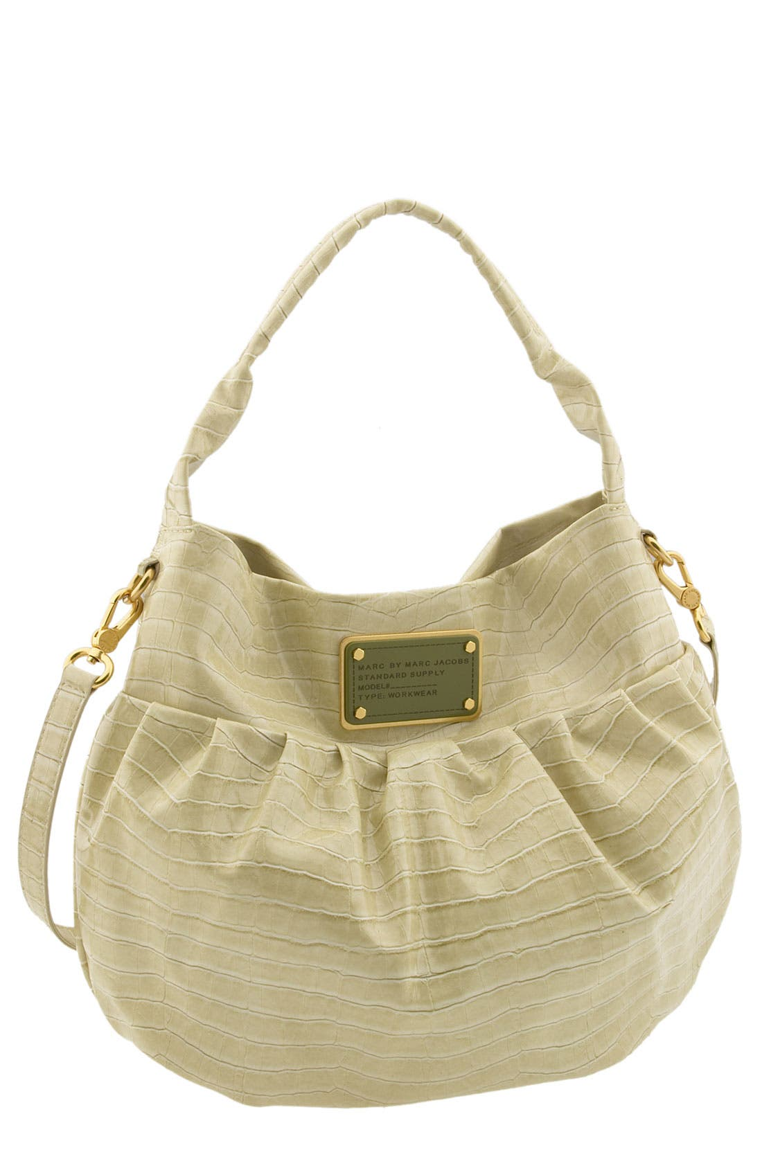 Main Image - MARC BY MARC JACOBS 'Croc of Q - Lil Riz' Hobo