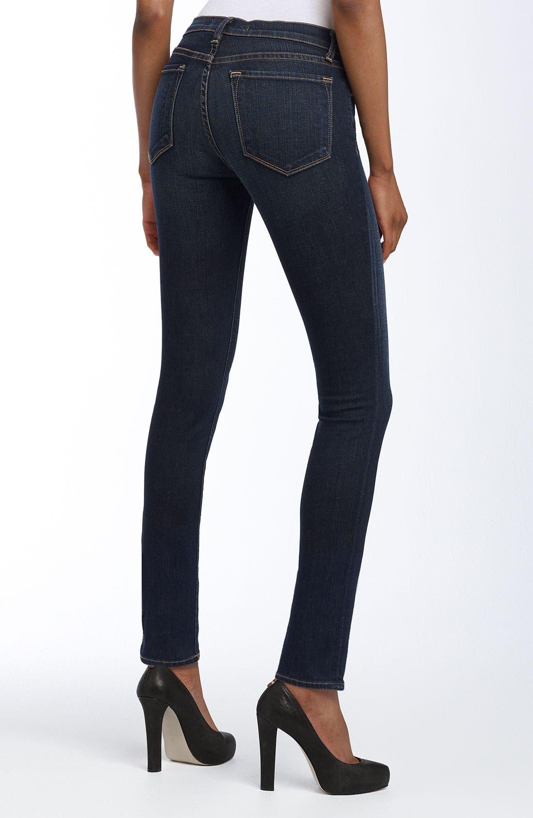 J brand '811' skinny stretch jeans (dark vintage)