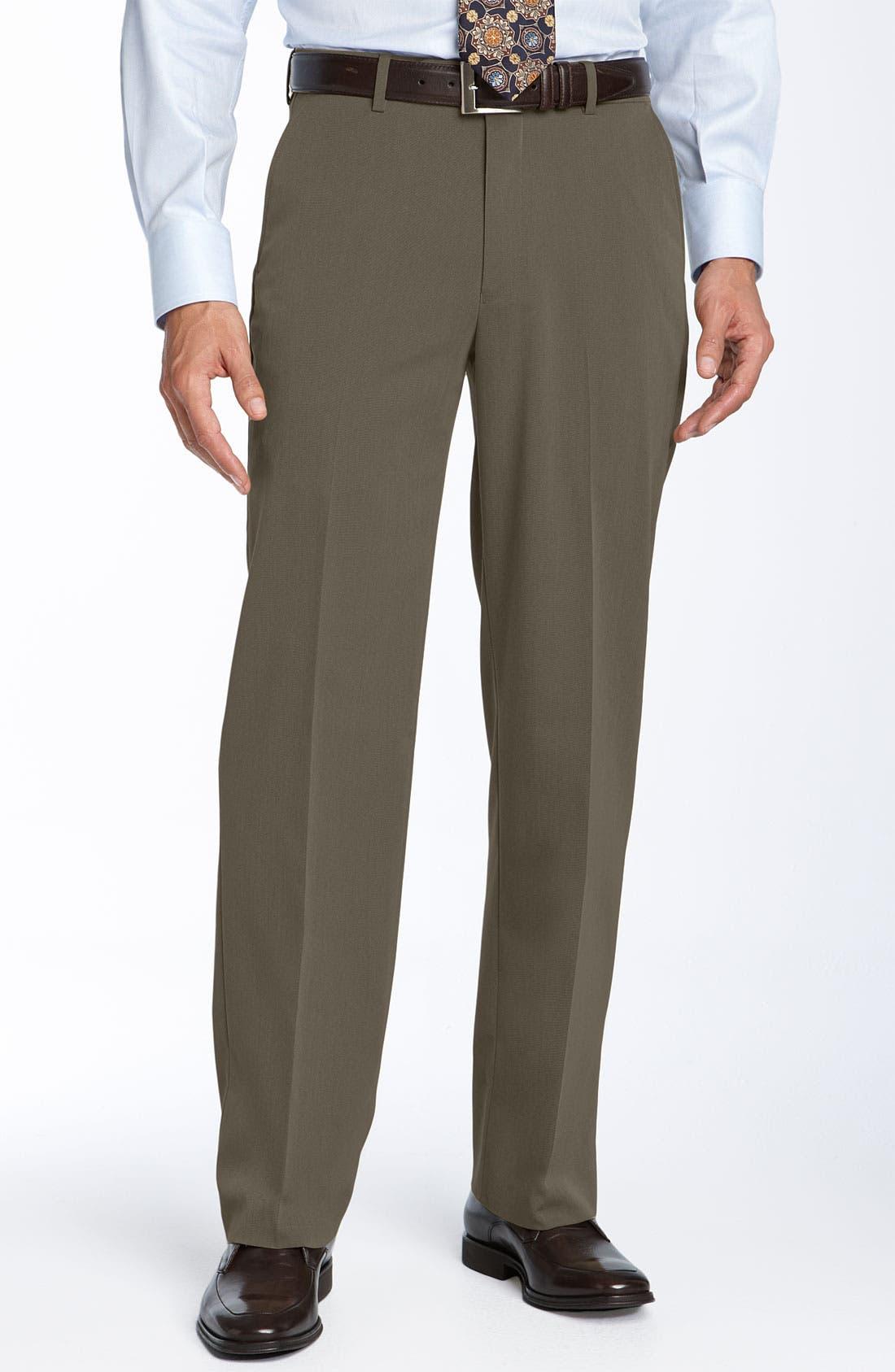 Alternate Image 1 Selected - Ballin Comfort EZE Flat Front Trousers