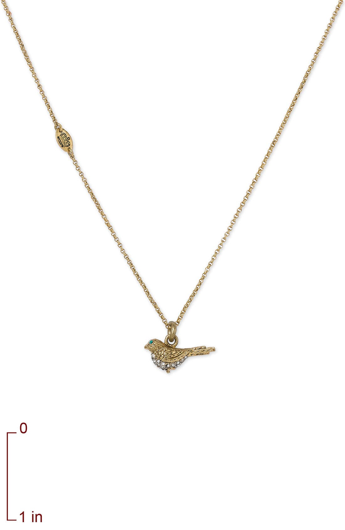 Alternate Image 2  - Juicy Couture 'Wish' Sparrow Necklace