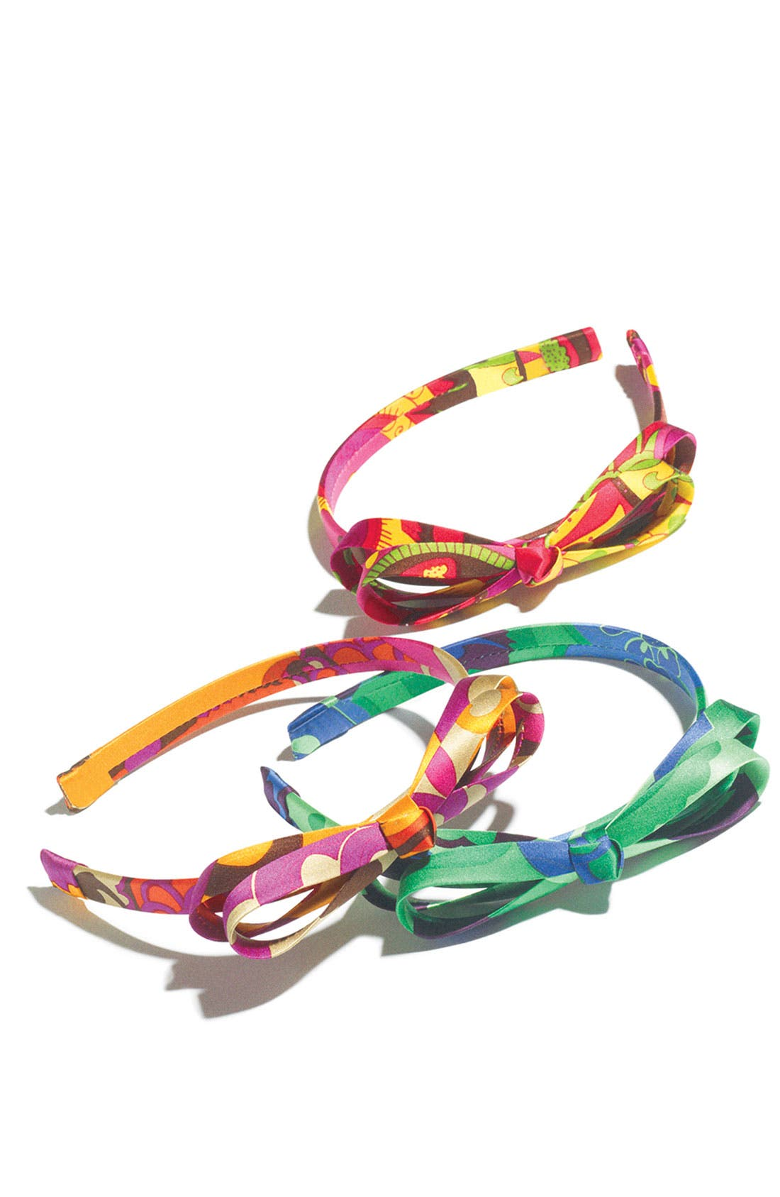 Alternate Image 2  - L. Erickson 'Double Loop' Bow Headband