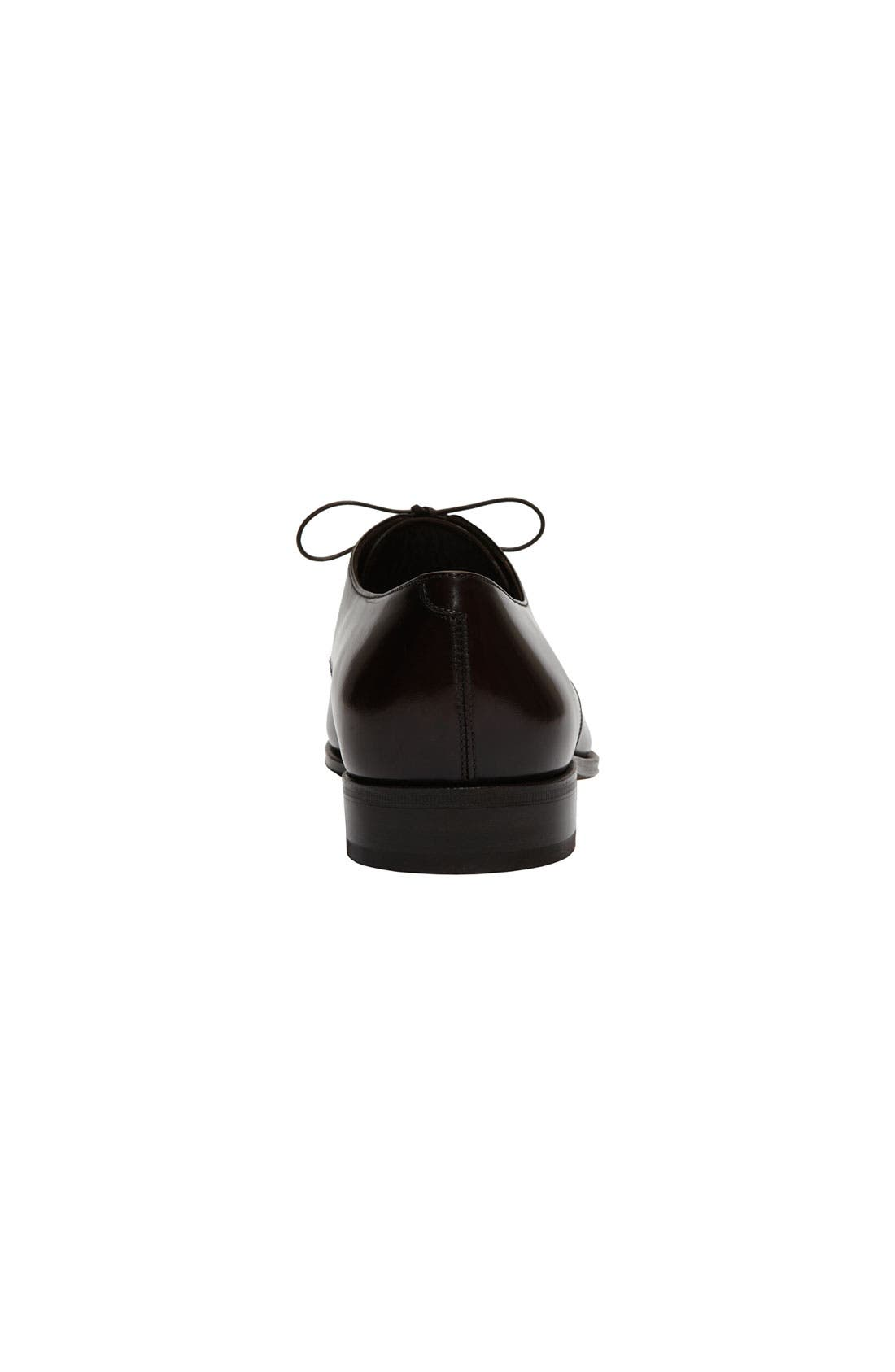 Alternate Image 4  - Salvatore Ferragamo 'Faraone' Cap Toe Oxford (Men)