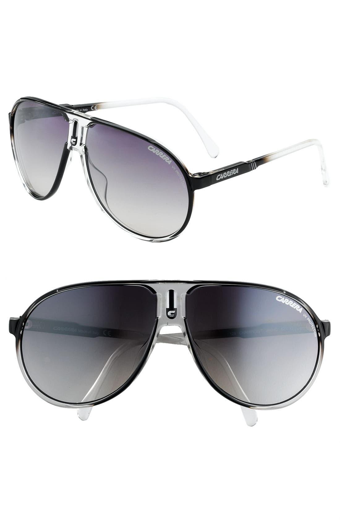 Alternate Image 1 Selected - Carrera Eyewear 'Champion' Aviator Sunglasses