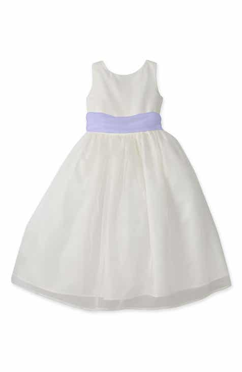 69fea079361 Us Angels Sleeveless Organza Dress (Toddler Girls