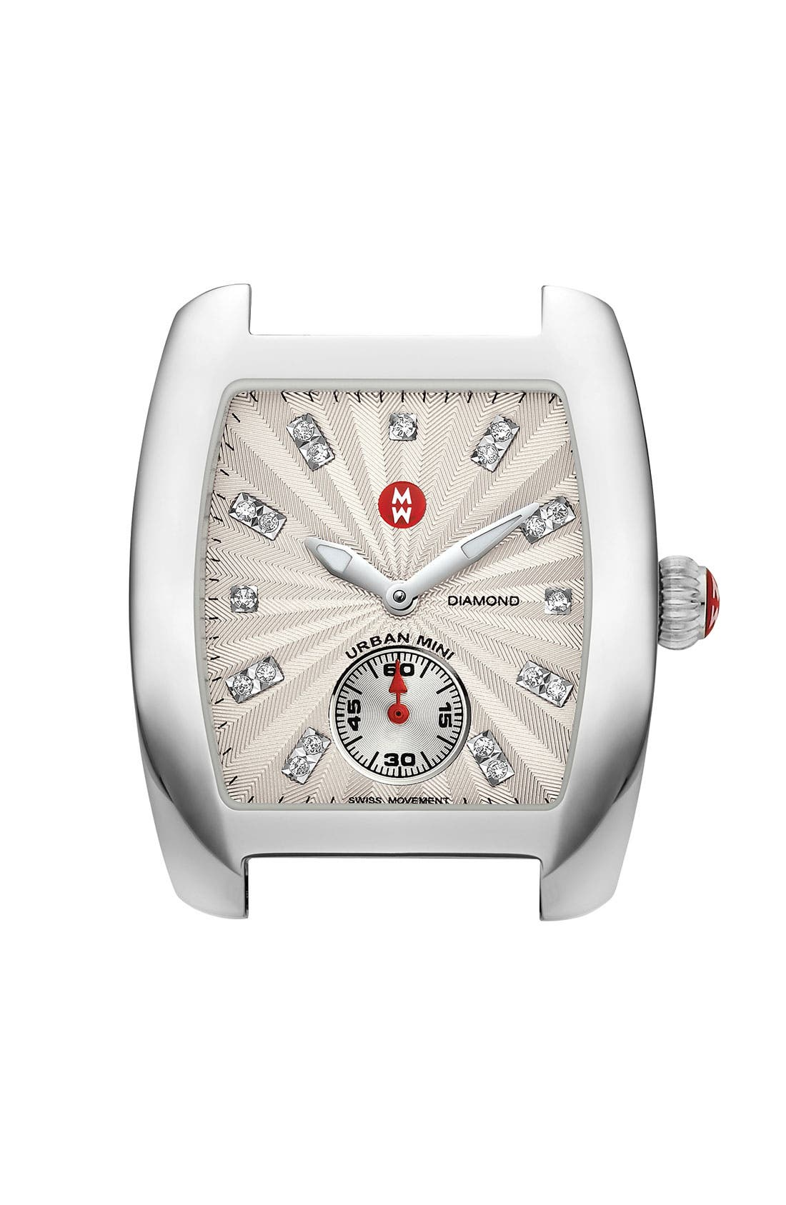 Main Image - MICHELE 'Urban Mini Diamond Markers' Customizable Watch