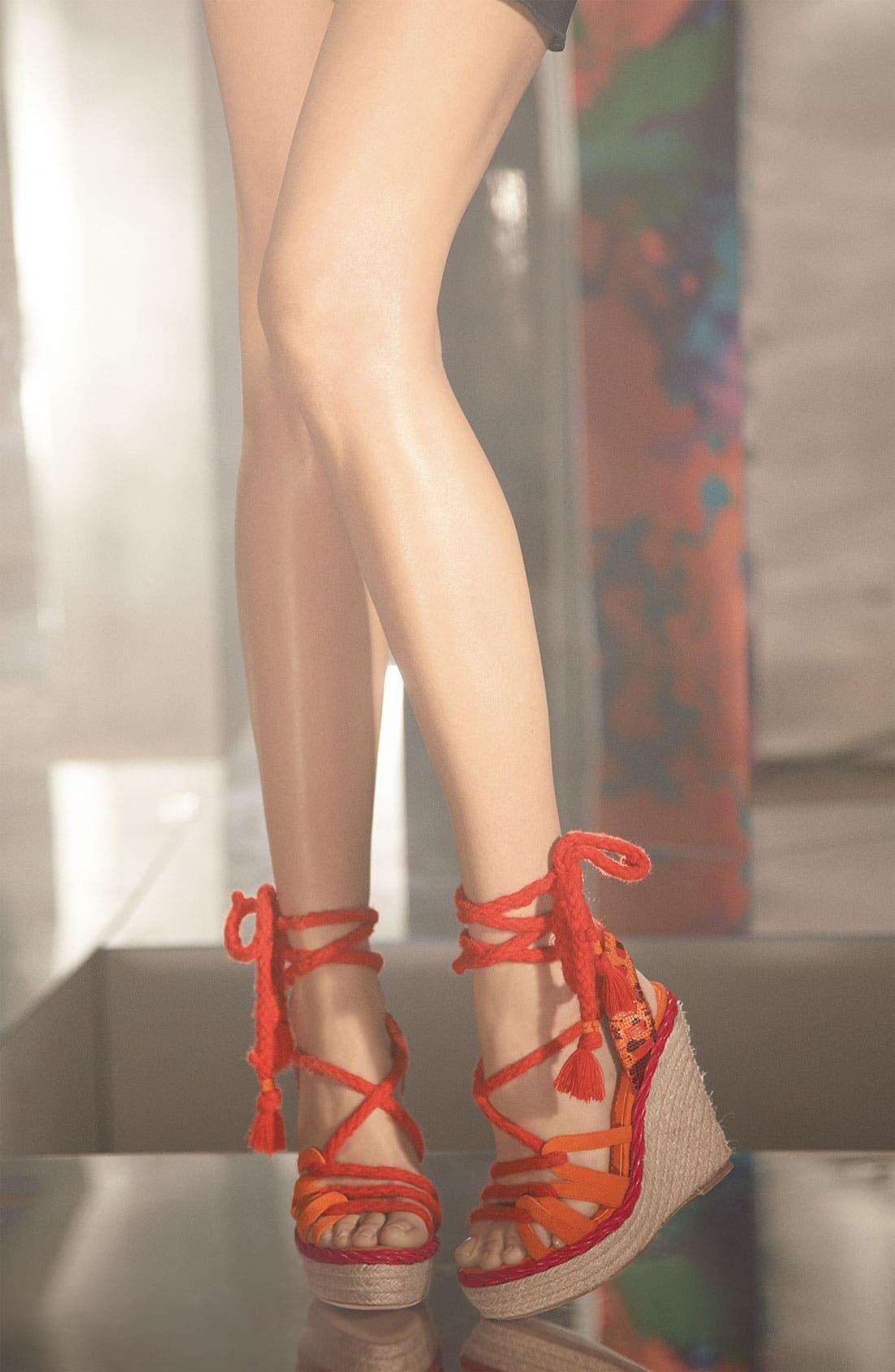 Alternate Image 4  - Dior 'Tahiti' Platform Wedge Sandal