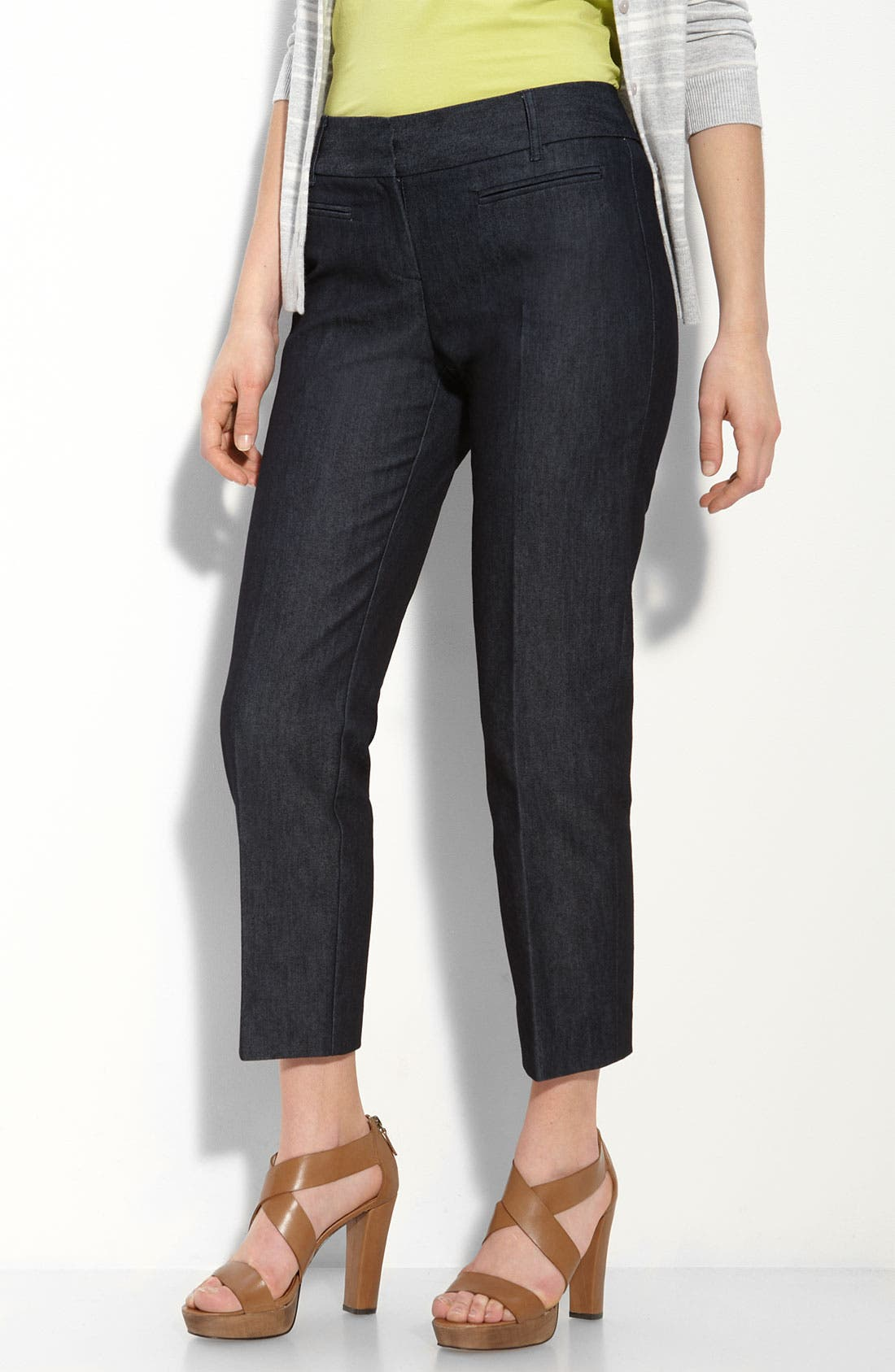 Alternate Image 1 Selected - Halogen® 'Taylor' Crop Pants