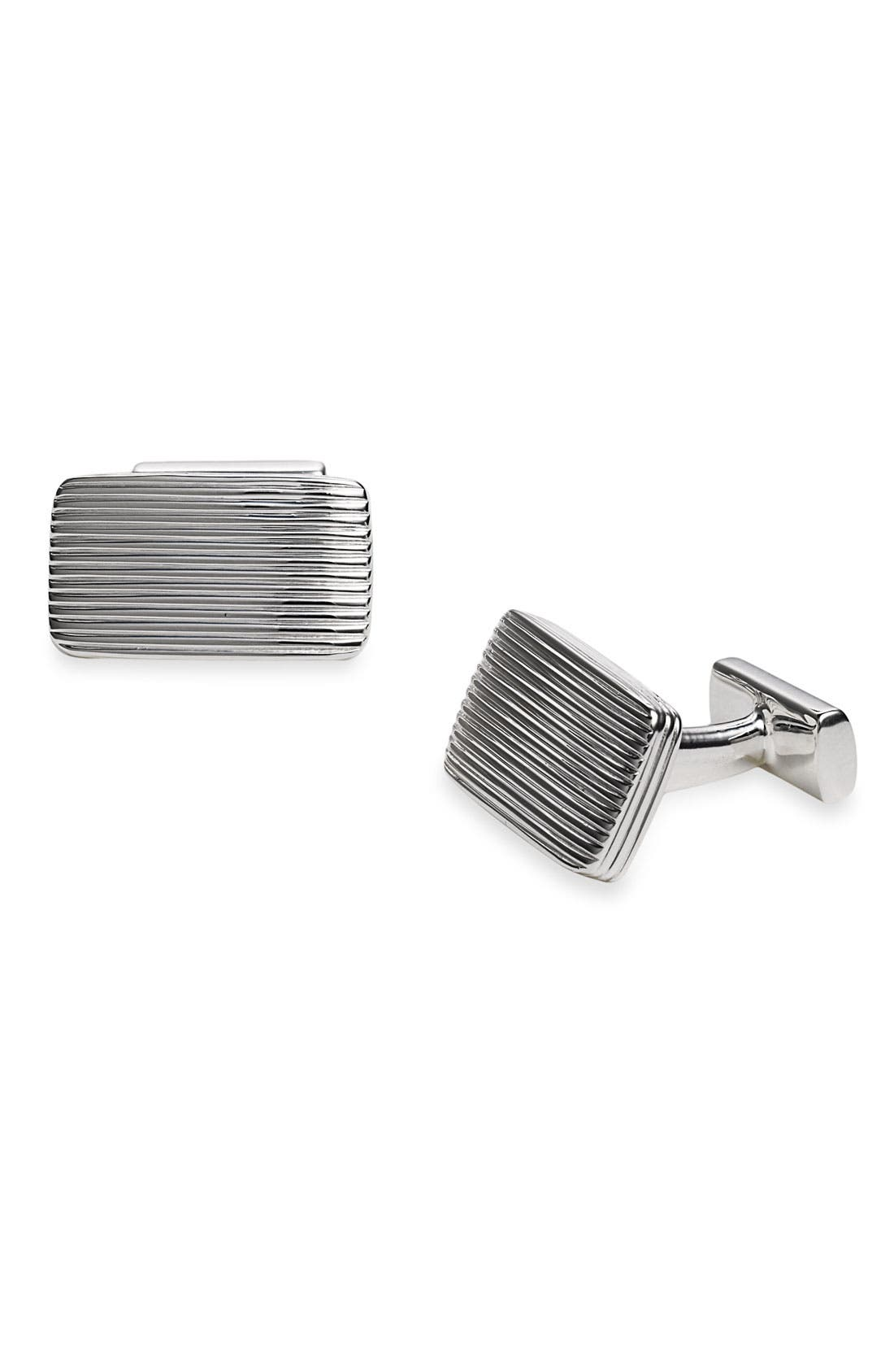 Alternate Image 1 Selected - Thomas Pink 'Georgian' Sterling Silver Cuff Links