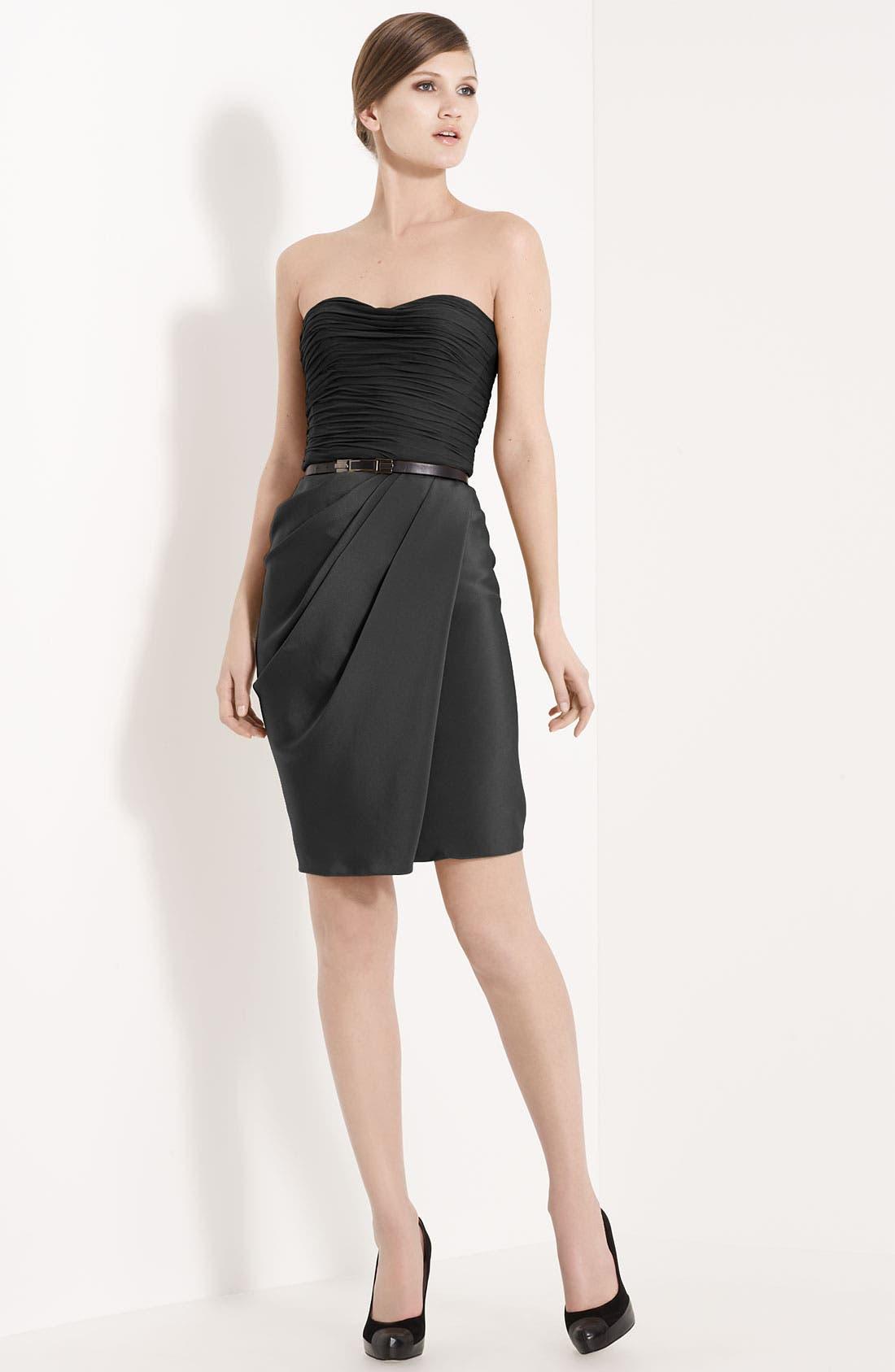 Alternate Image 1 Selected - Jason Wu Belted Strapless Dress