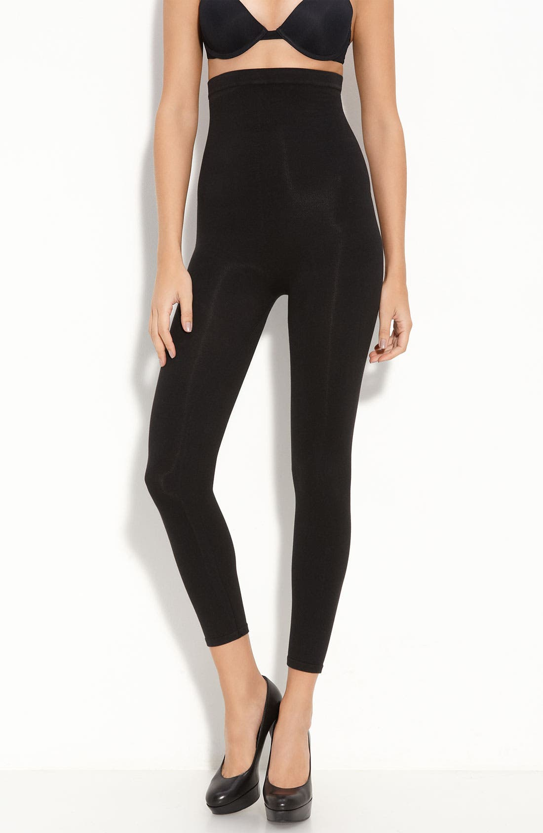Alternate Image 1 Selected - SPANX® 'Look-at-Me' High Waist Shaping Leggings