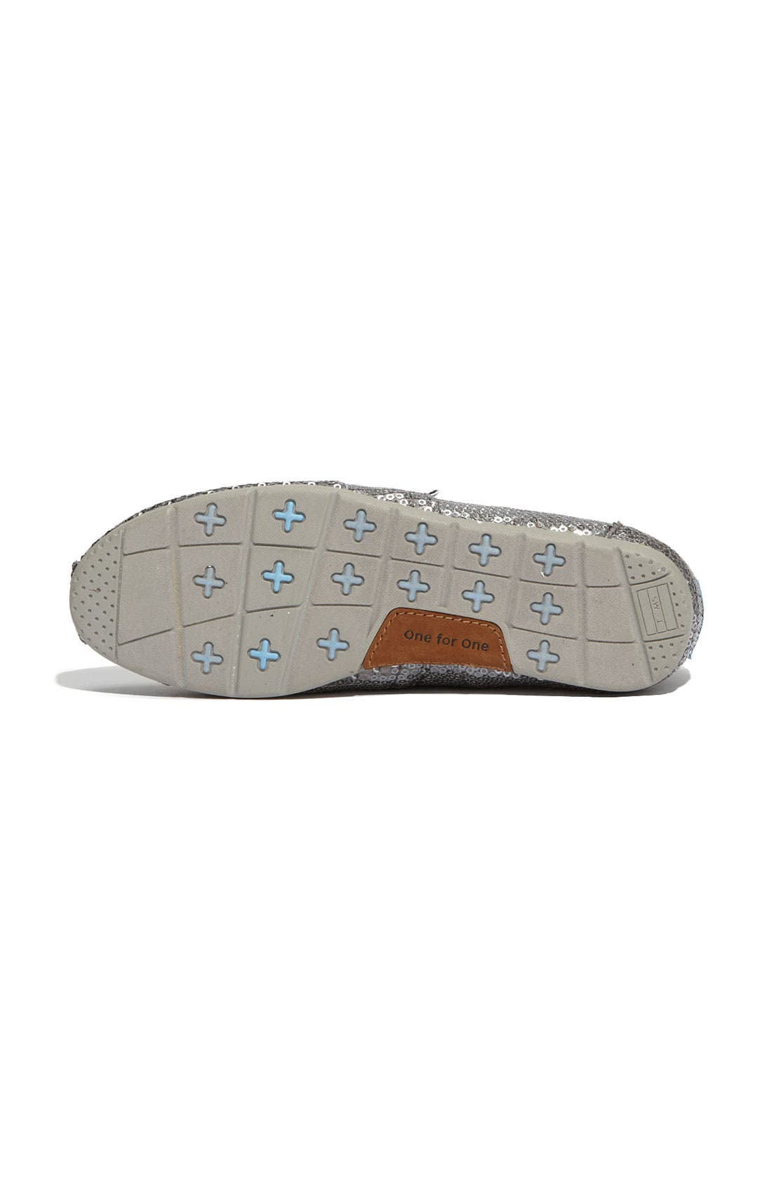 Alternate Image 4  - TOMS 'Classic - Sequins' Slip-On (Women) (Nordstrom Exclusive)