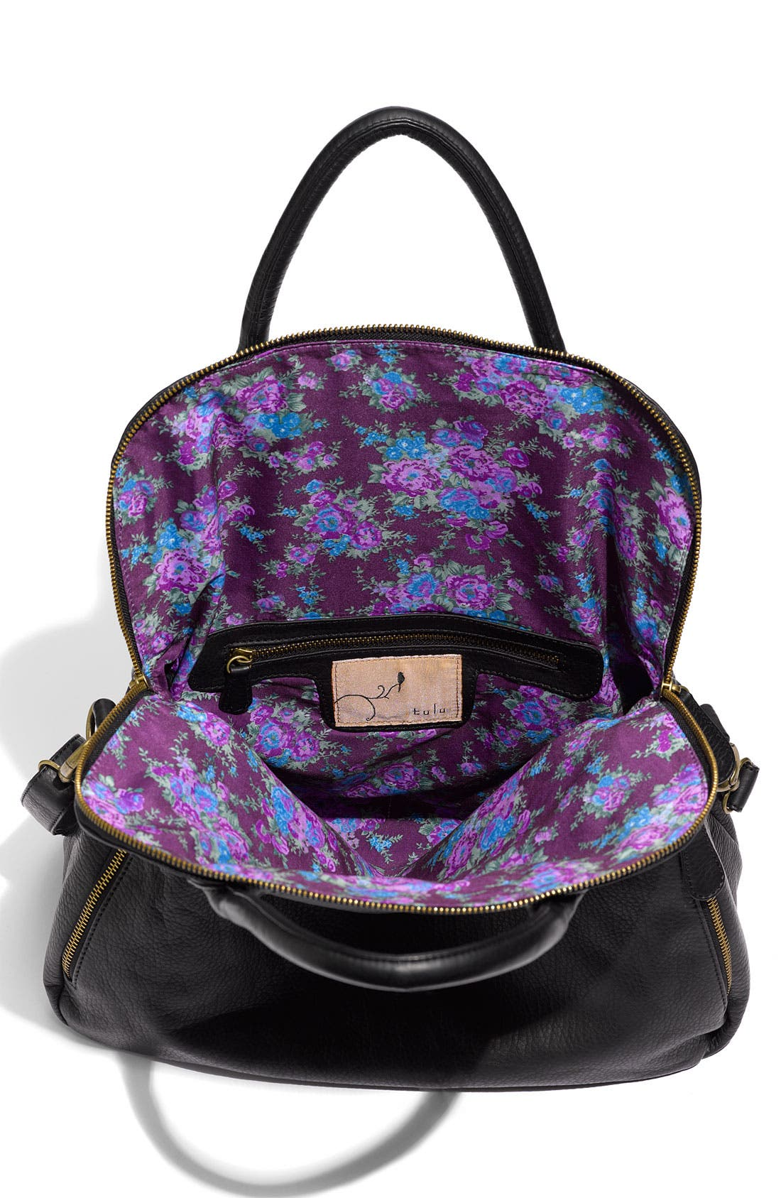 Alternate Image 4  - Tulu Faux Leather Crossbody Bag (Nordstrom Exclusive)