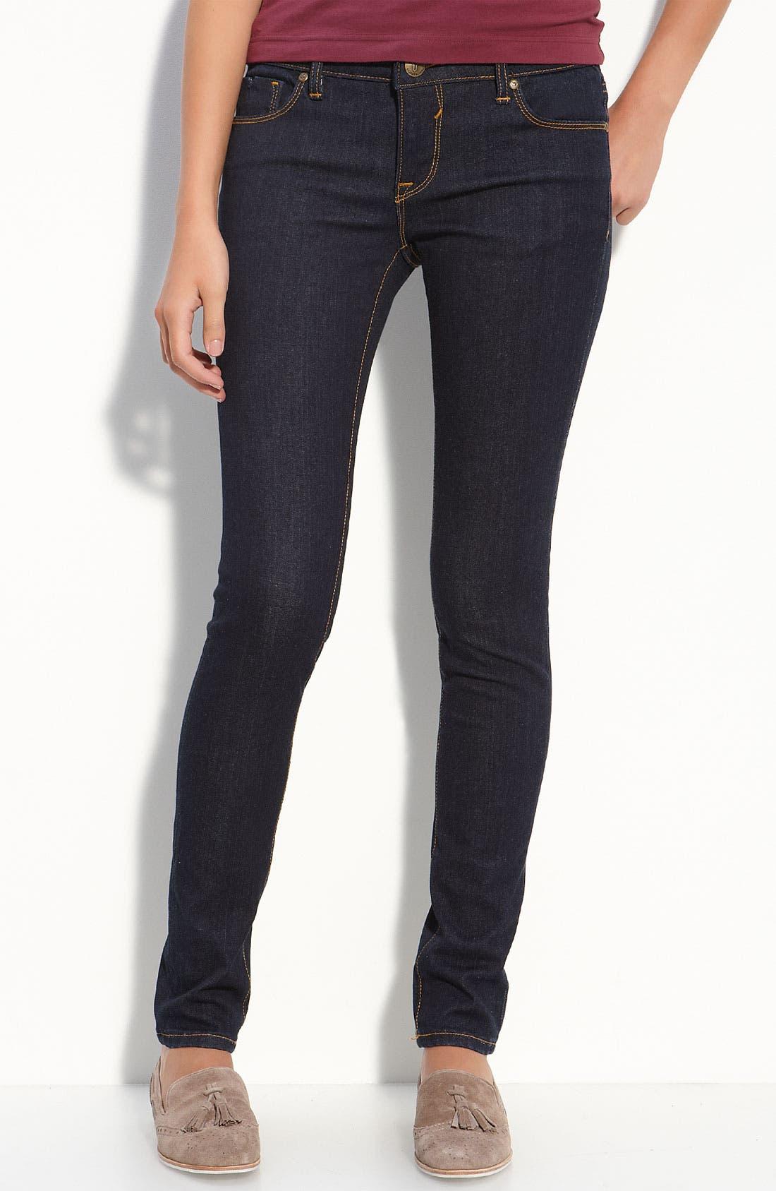 Alternate Image 2  - Vigoss Skinny Jeans (Juniors Regular & Long)