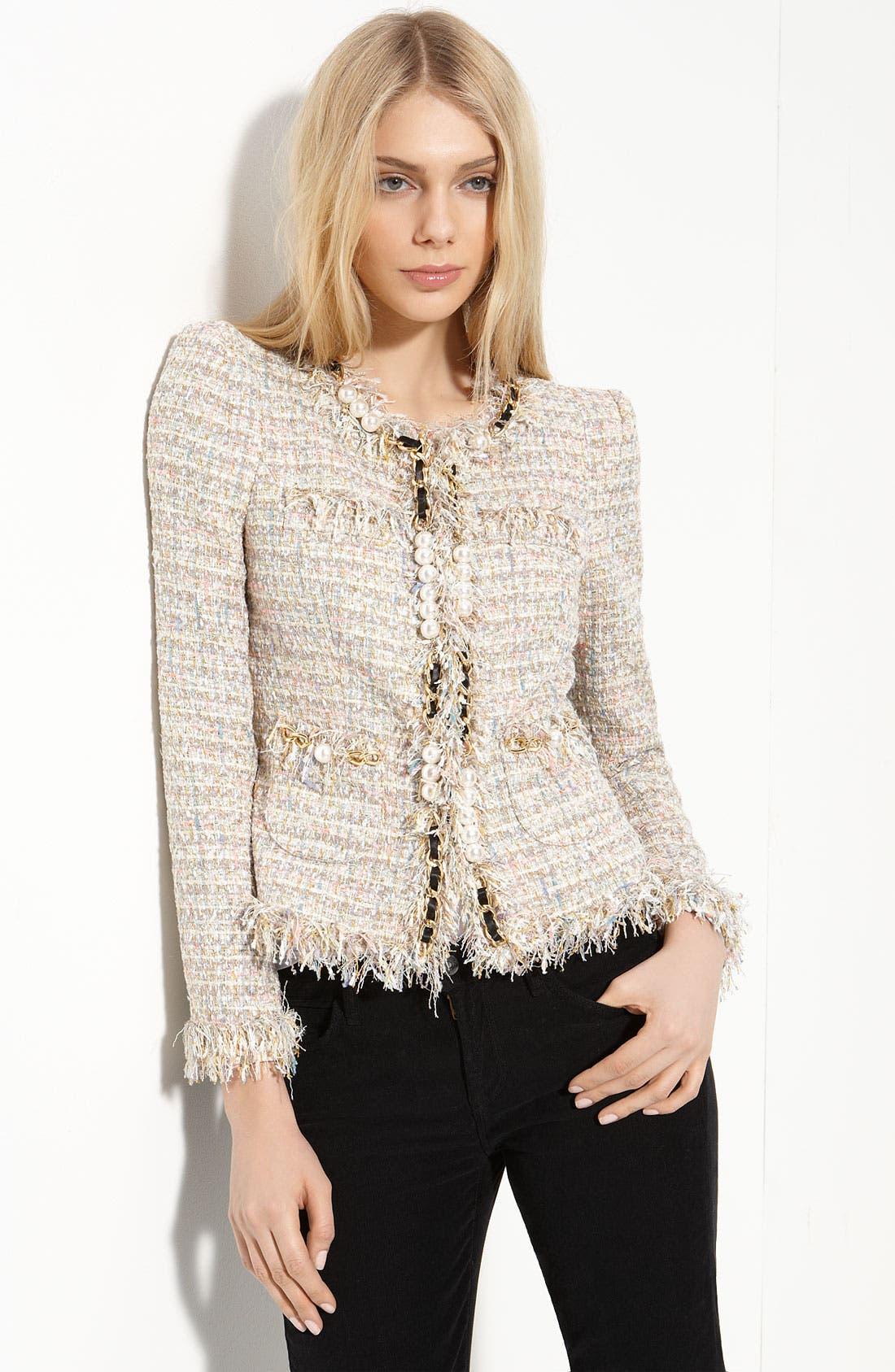 Main Image - Mcginn 'Elizabeth' Metallic Bouclé Jacket