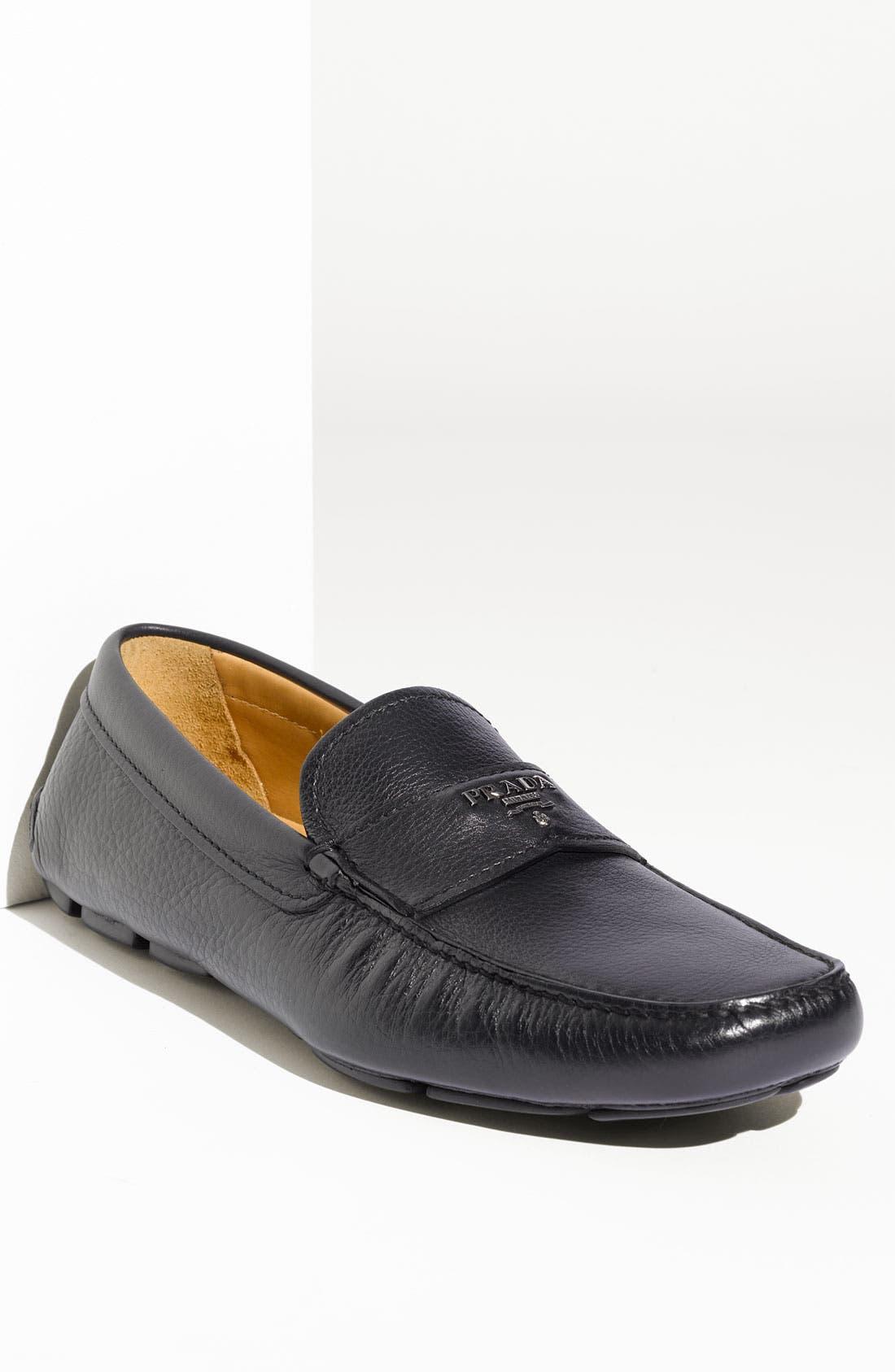 Alternate Image 1 Selected - Prada Driving Shoe (Men)