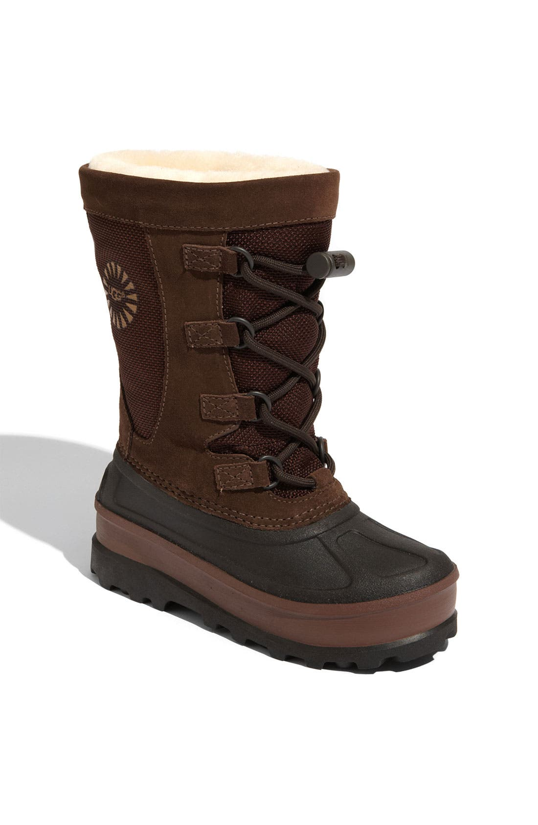 Alternate Image 1 Selected - UGG® Australia 'Bobbey' Boot (Little Kid & Big Kid)