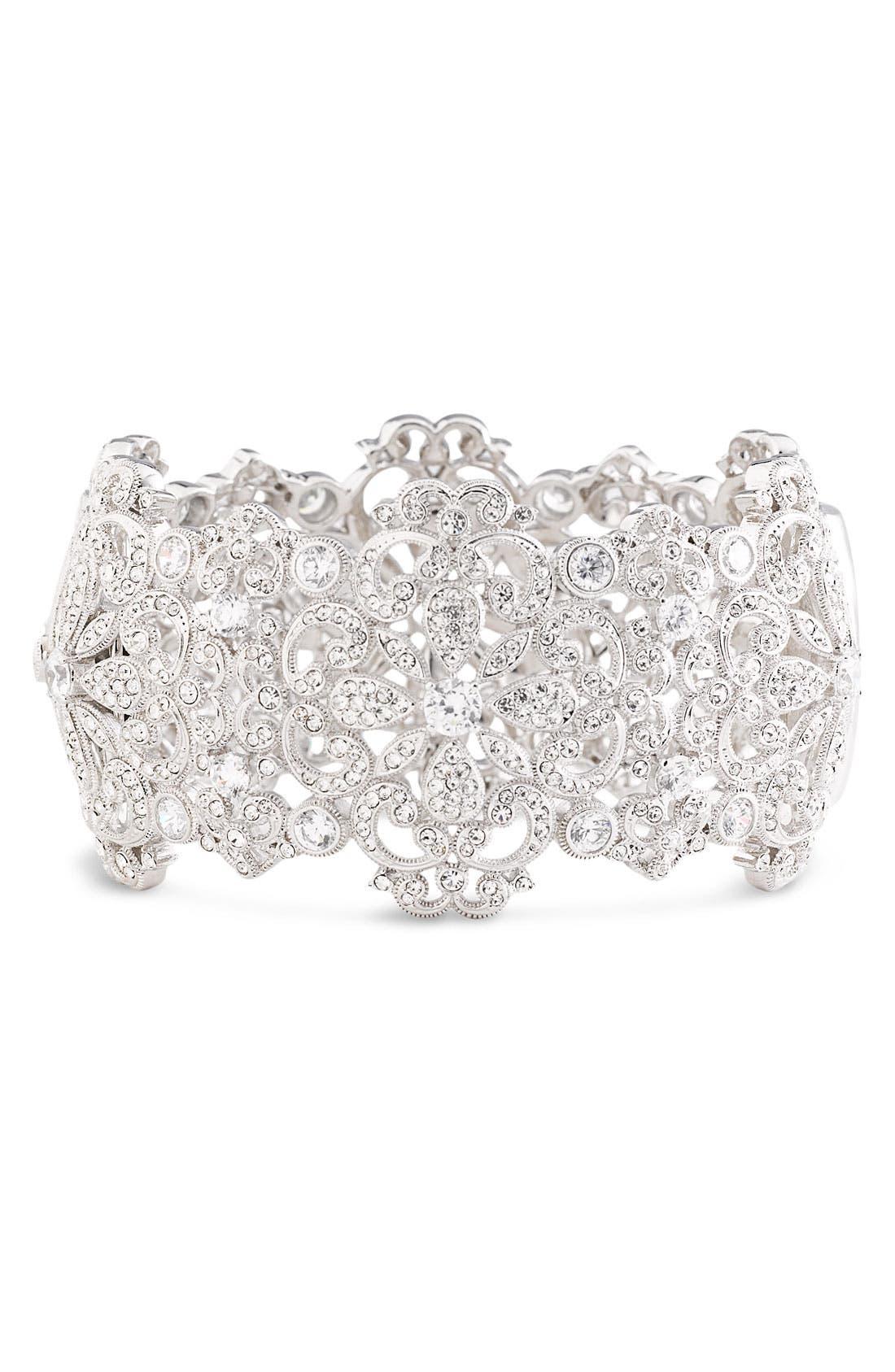 Alternate Image 1 Selected - Nadri Filigree Cuff Bracelet