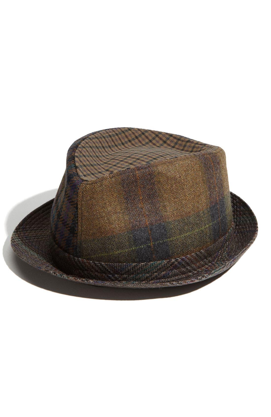 Alternate Image 1 Selected - Etro Mixed Print Wool Hat
