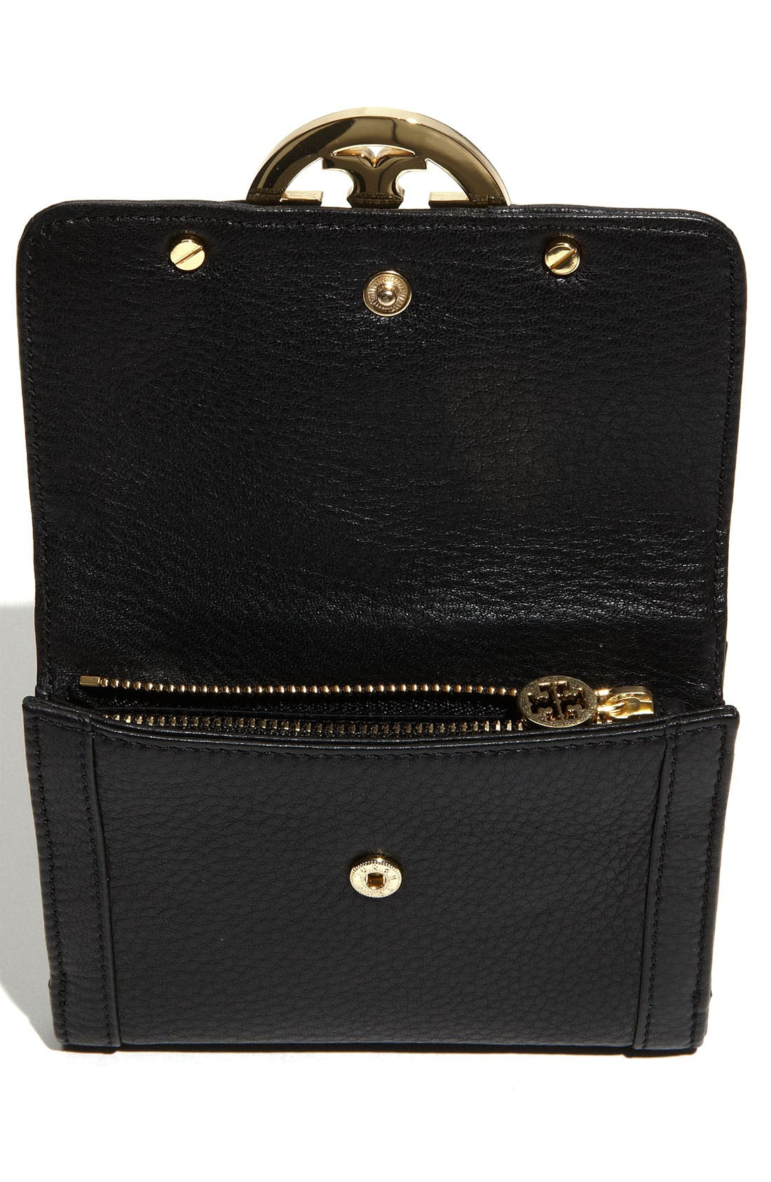 Alternate Image 3  - Tory Burch 'Amanda Angelux' Double Flap French Wallet