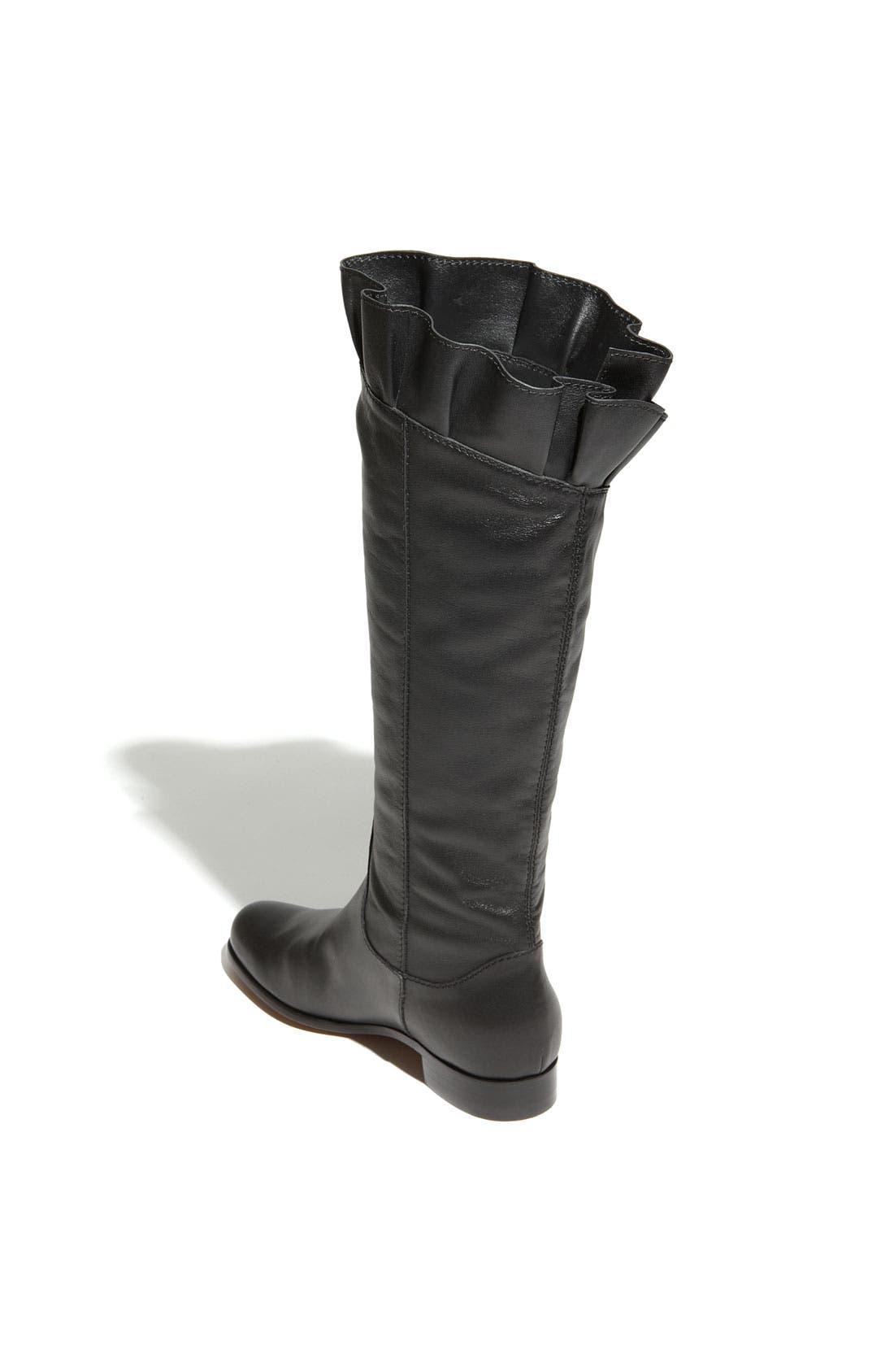 Alternate Image 2  - Moschino Cheap & Chic Ruffled Leather Boot