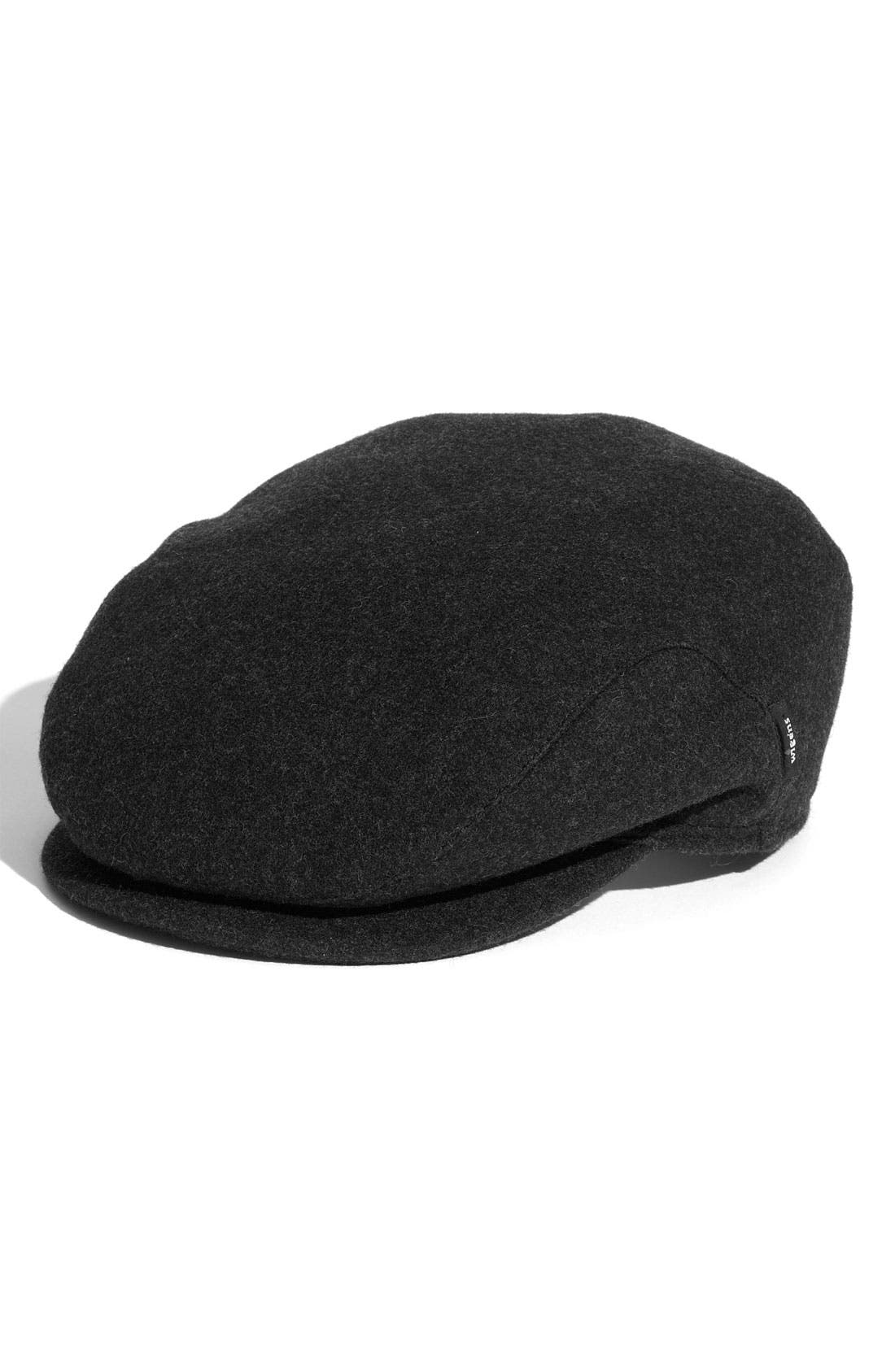 Alternate Image 1 Selected - Wigens Earflap Wool Driving Cap