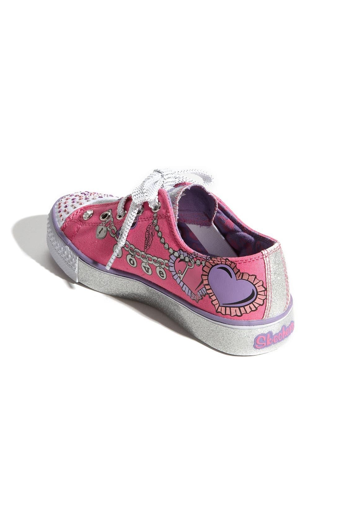 Alternate Image 2  - SKECHERS 'Peekaboo - Dream Jumper' Sneaker (Toddler, Little Kid & Big Kid)