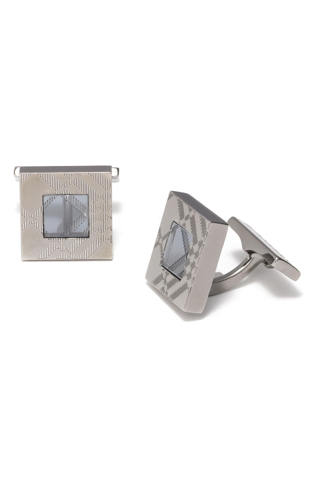 Alternate Image 1 Selected - Burberry Enameled Cuff Links